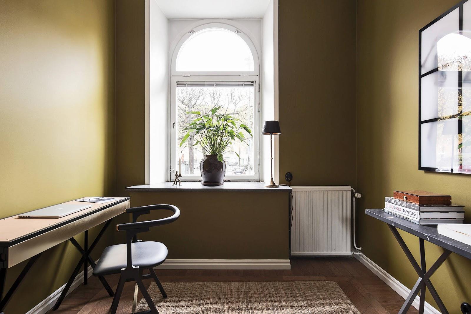 Accente vintage și bucătărie până în tavan într-un apartament de 73 m² 9.jpg