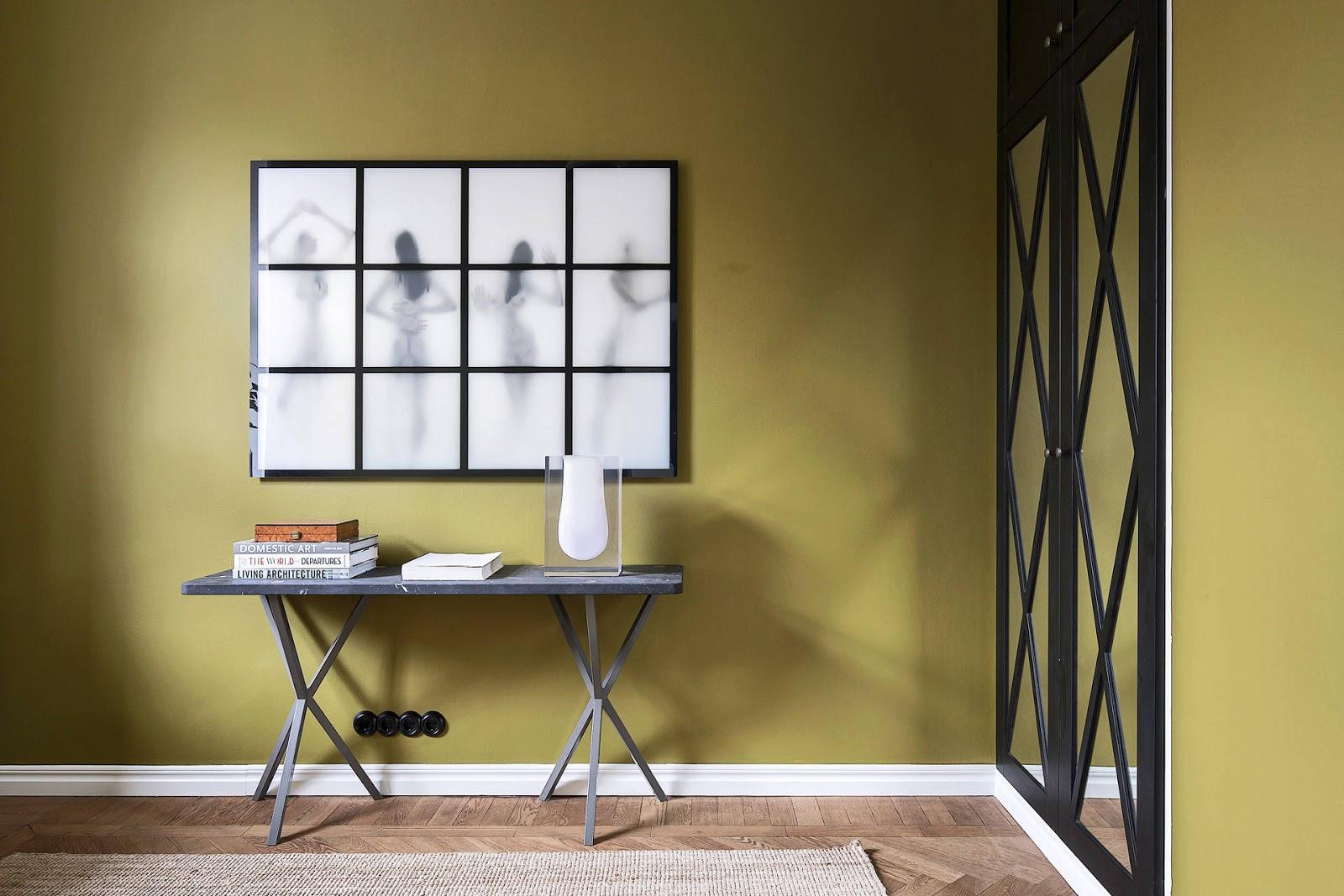 Accente vintage și bucătărie până în tavan într-un apartament de 73 m² 10.jpg
