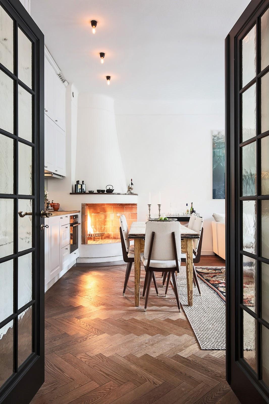 Accente vintage și bucătărie până în tavan într-un apartament de 73 m² 6.jpg
