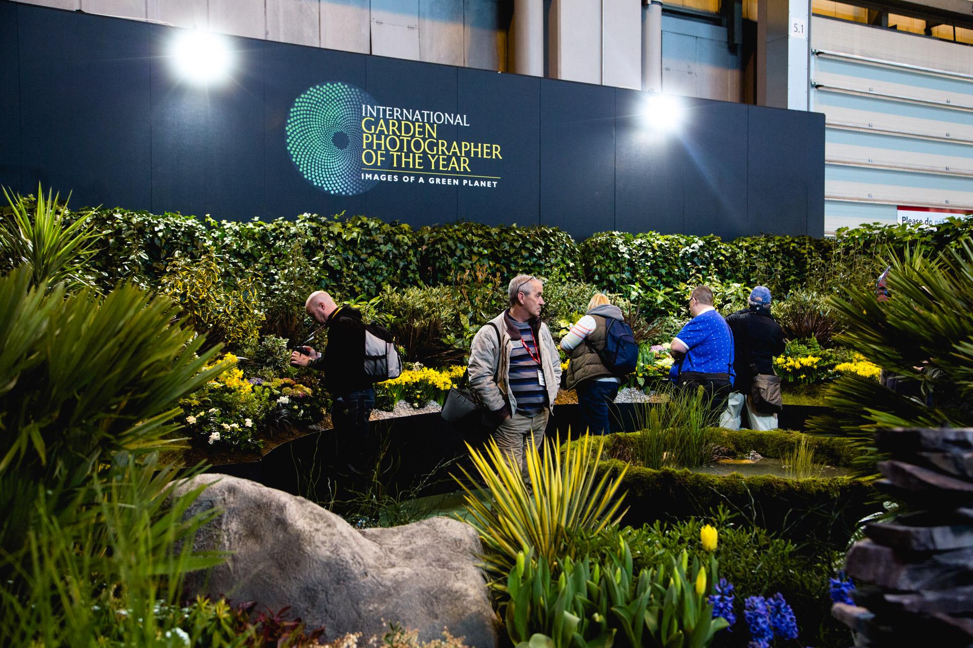 International Garden Photographer of the Year's garden area.