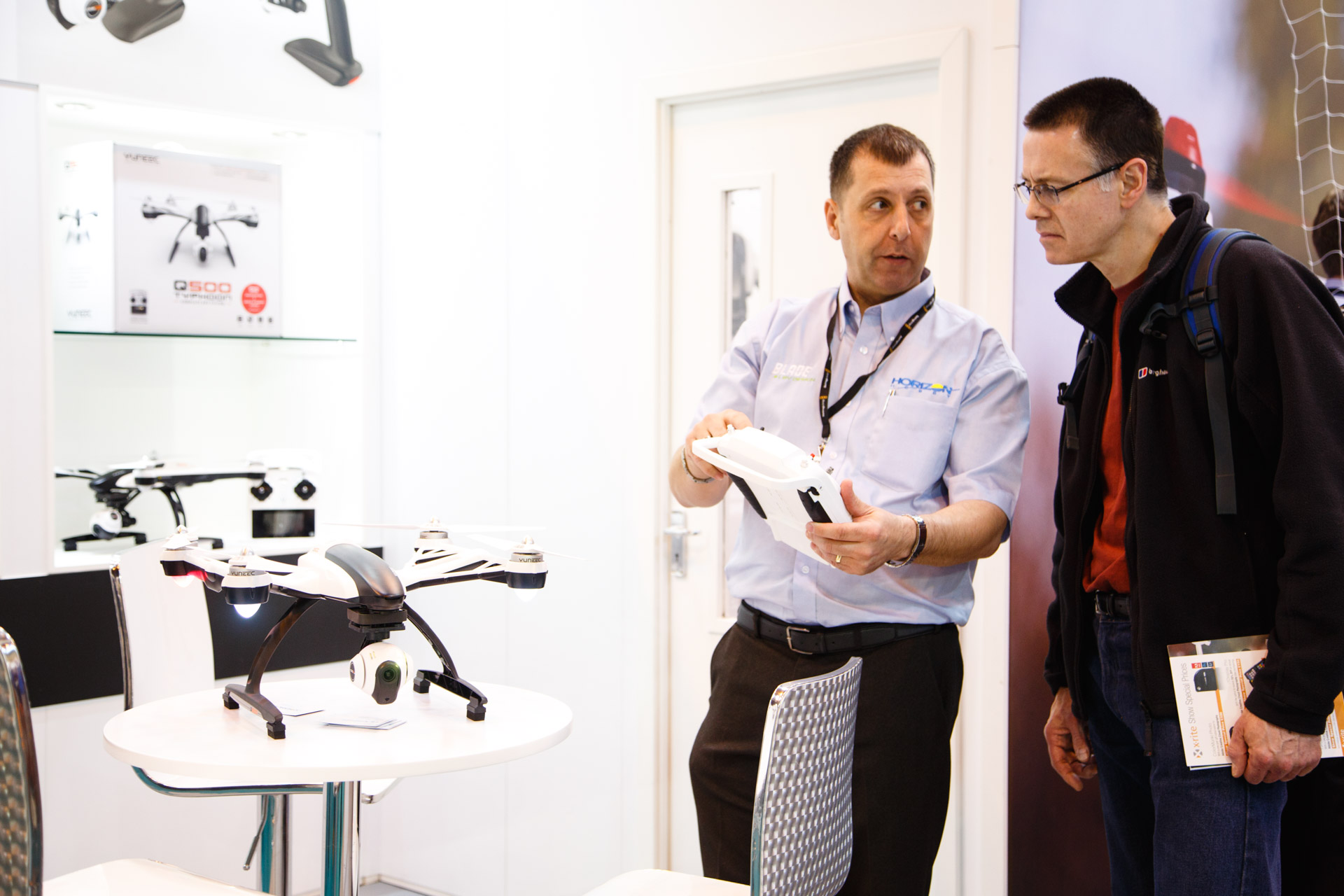 The increased popularity in drones was reflected at The Photography Show by a number of stands.