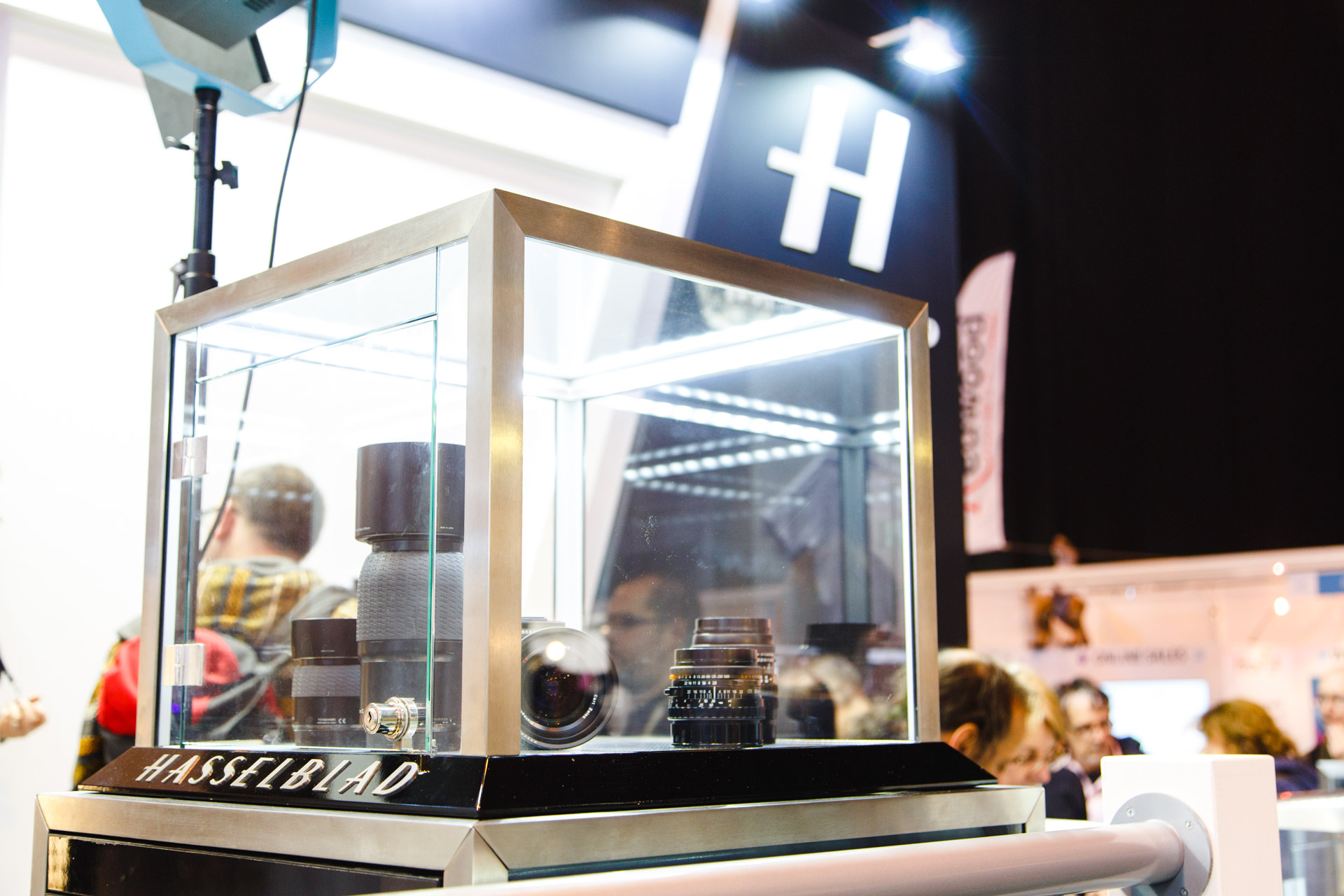 Hasselblad's stand.
