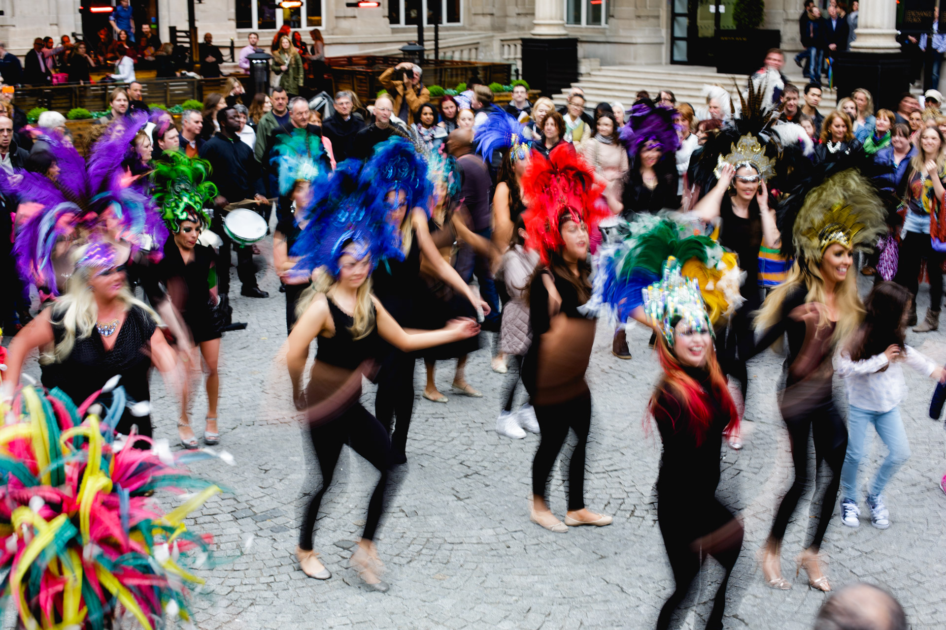 Liverpool Light Night 2015 Samba Dance Exchange Flags Andrew Wilson Photography