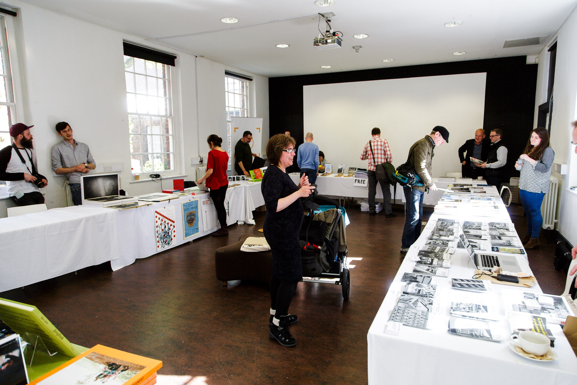 The Photobook Market was held at The Bluecoat by Schilt Publishing and hosted a variety of book publishers and books.
