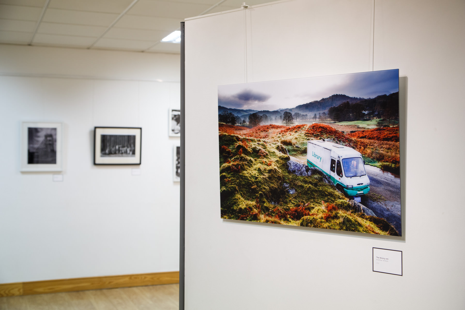 October - My photo ( The Library Van ) won first place in the Photography Open in this years  Warrington Contemporary Arts Festival . As a result I will be having my first solo show there next year.