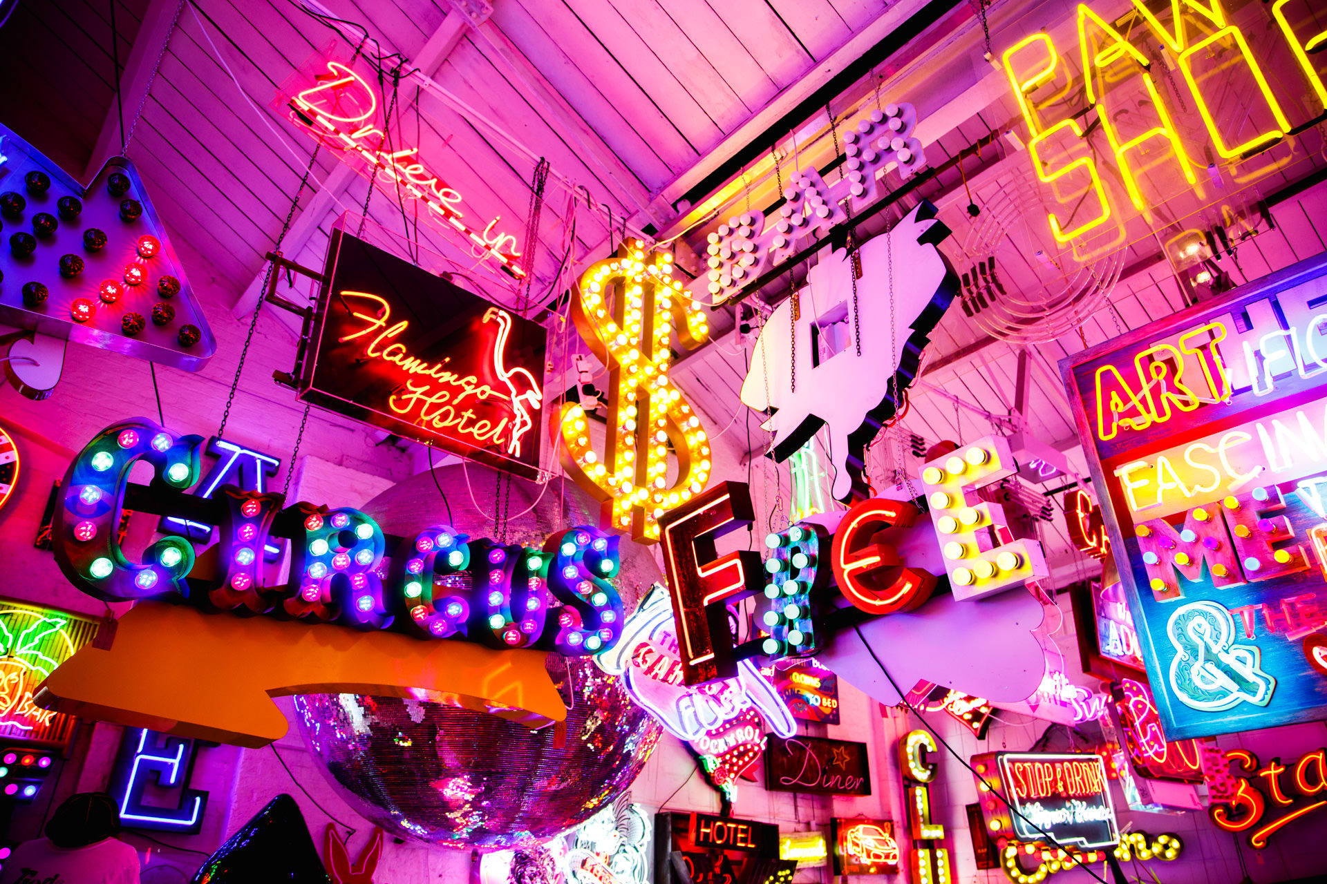 October - One of my favourite places and blogs of the year;  Gods Own Junkyard.  This neon-soaked place houses many lights and artwork by Chris Bracey. A colour fest for the eyes! (  blog here  )