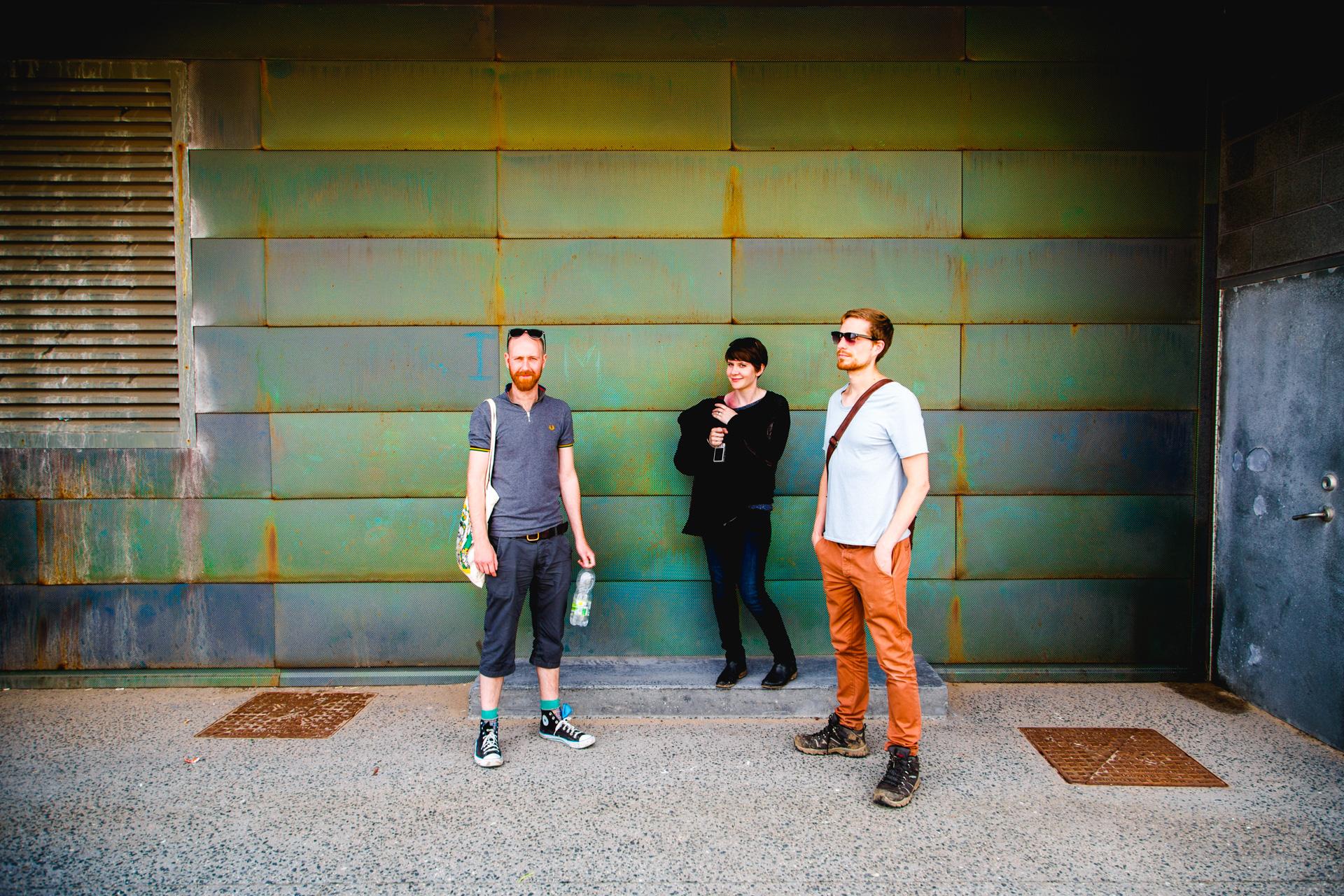 The gang - Keiron, Hannah & Jack.