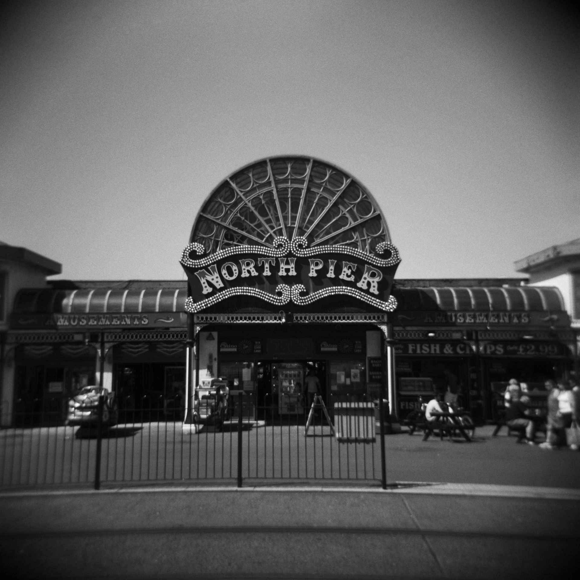 The same as above but photographed with my Holga film camera.