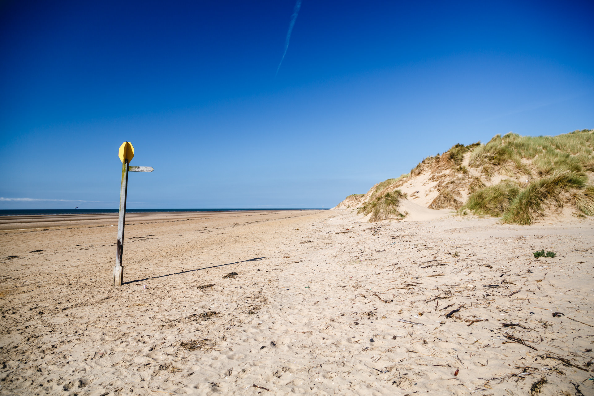 Crosby Formby Sun Sea And Sandy Dunes Andrew Wilson Photography