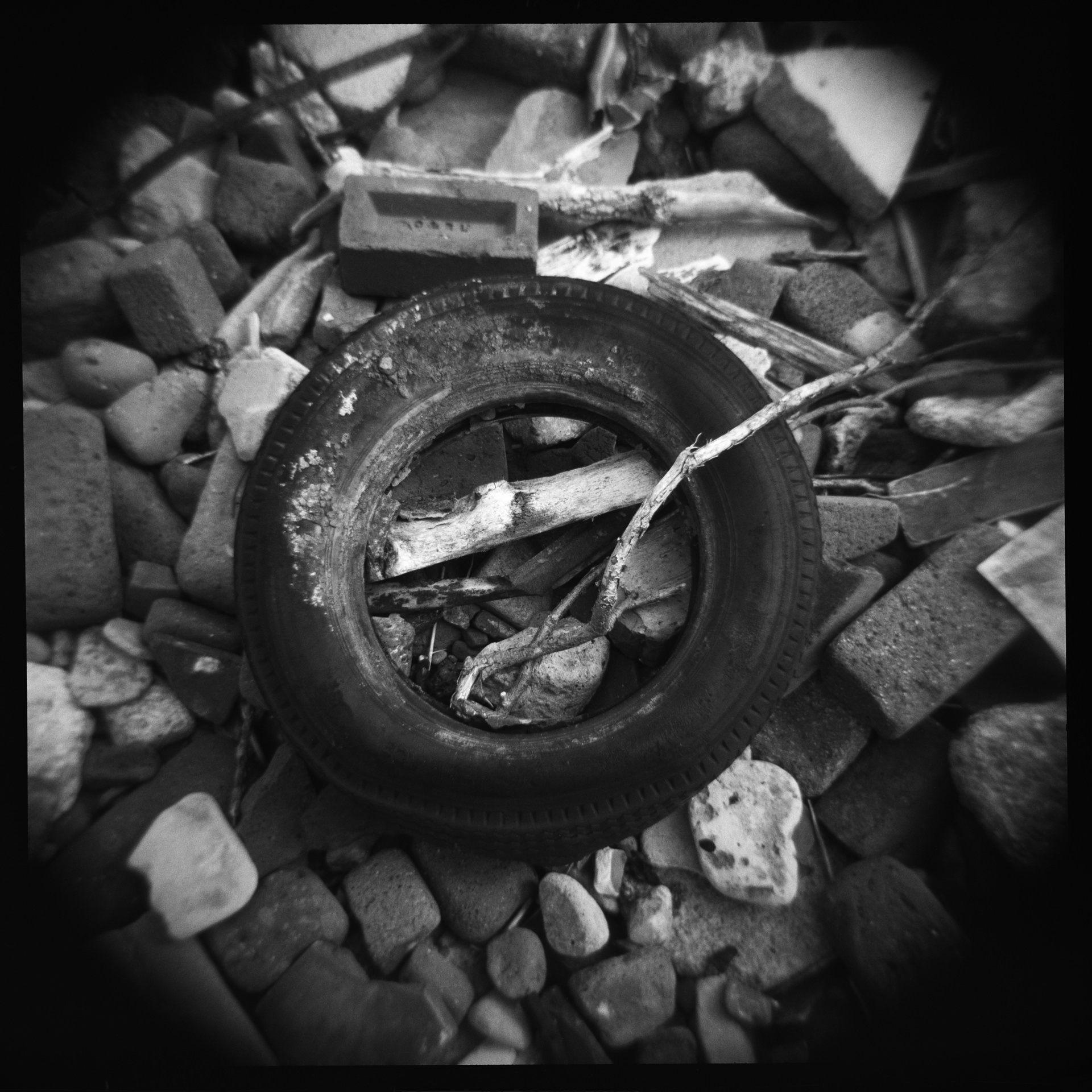 ...I photographed a number of tyres...