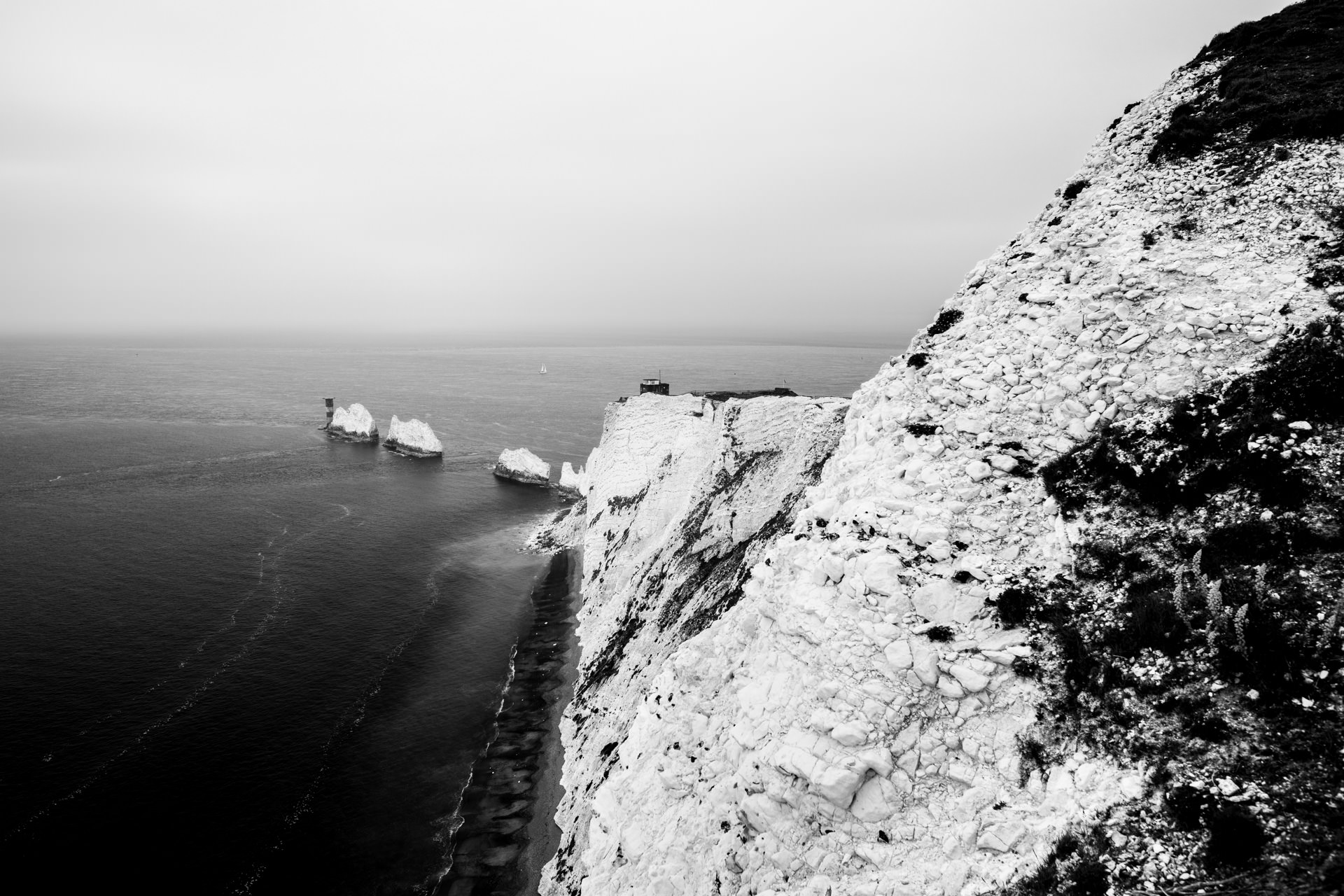 The Needles from the south side.