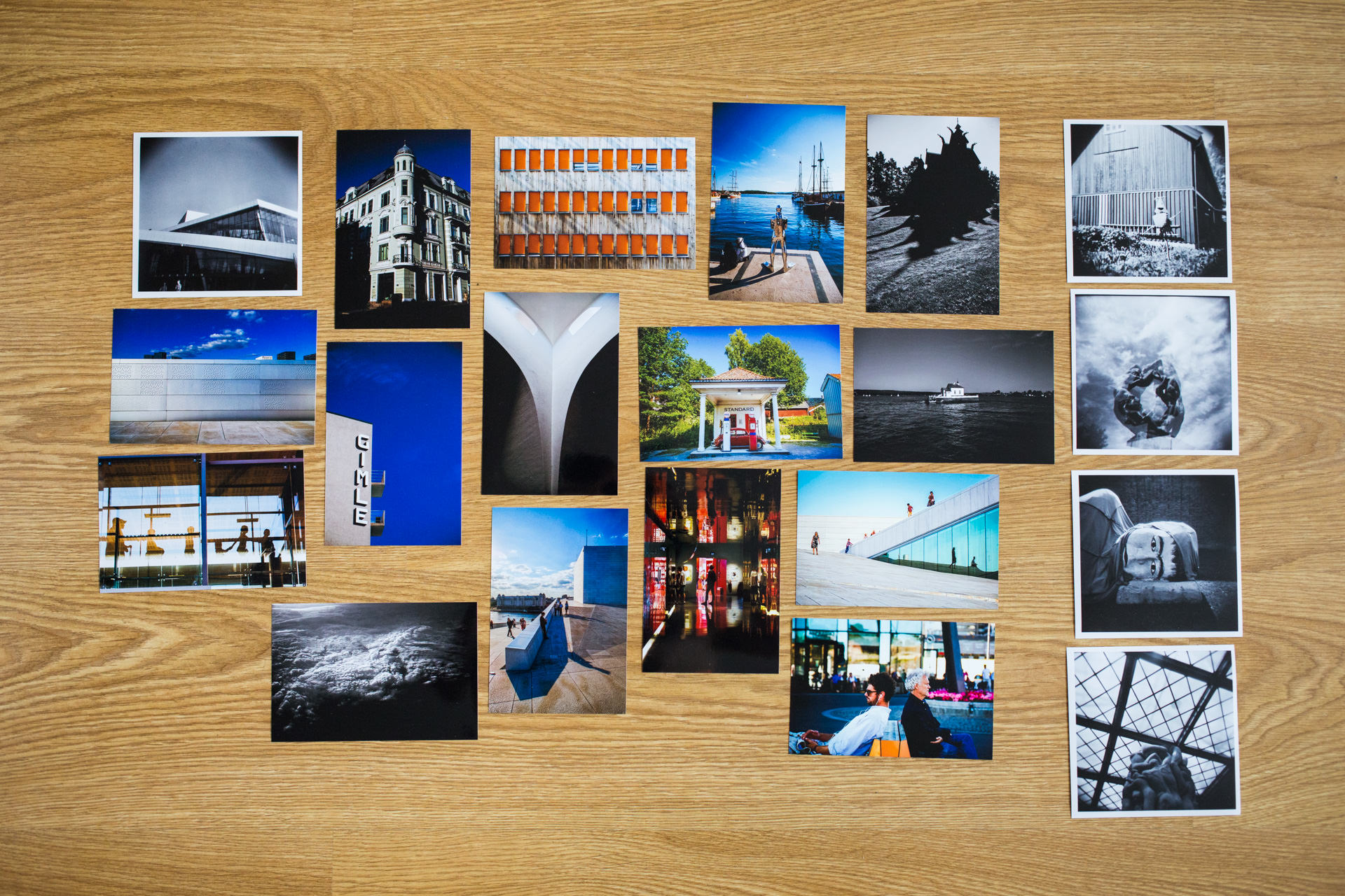 Initial Oslo photograph selection...