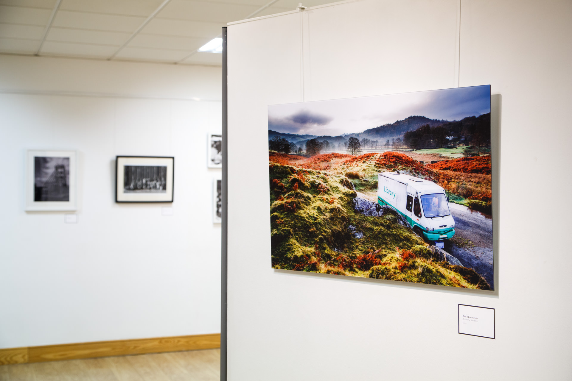 'The Library Van' on display at the 2015 WCAF Photography Open.