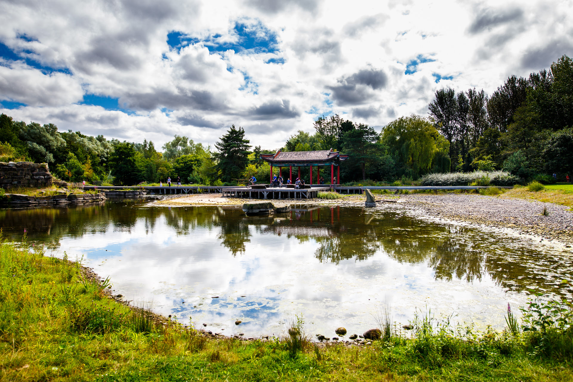 Andrew Wilson Photography Liverpool (20) Festival Gardens Chinese Pagoda Pond.jpg