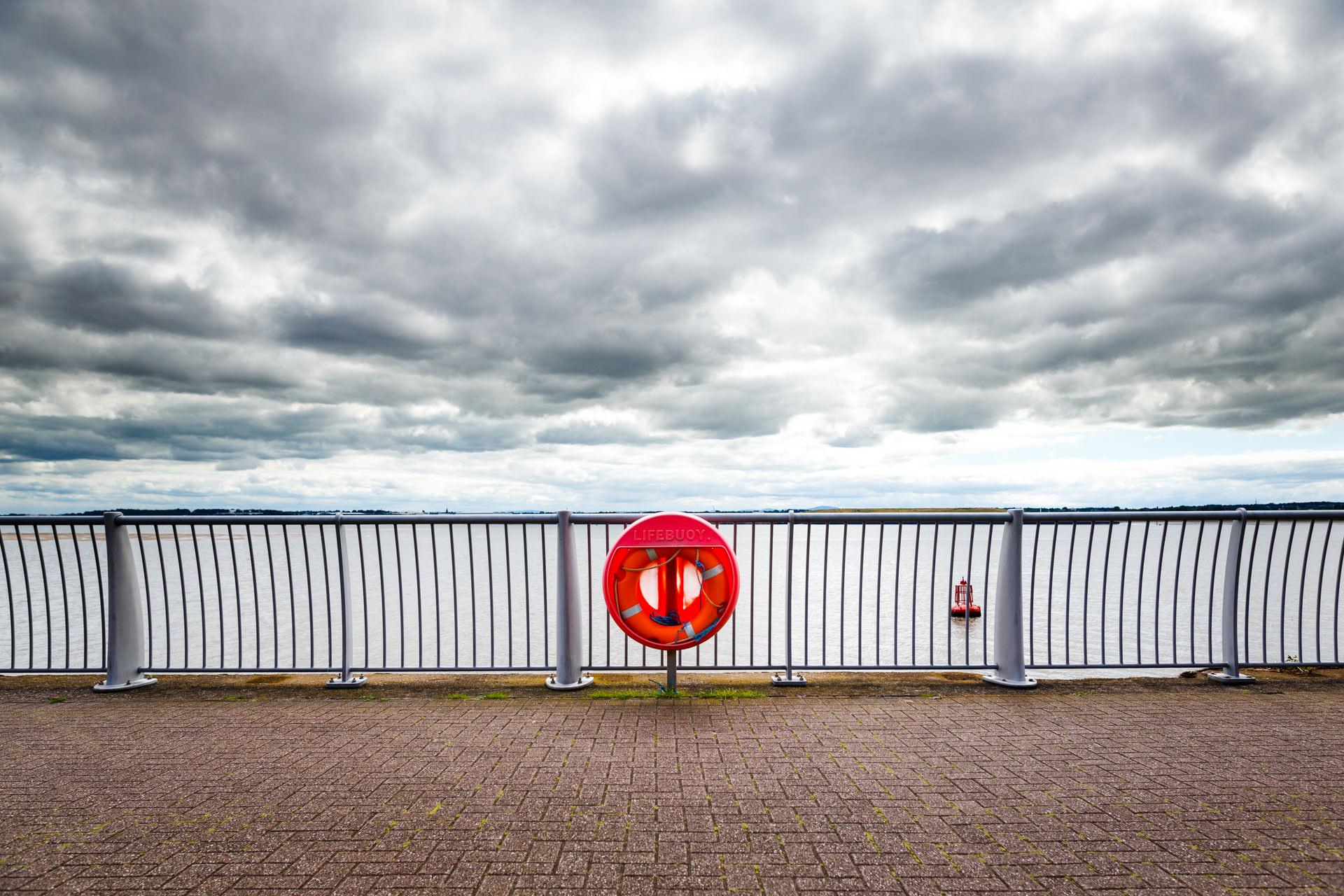 Andrew Wilson Photography Liverpool (26) Otterspool Promenade Mersey Life Ring.jpg