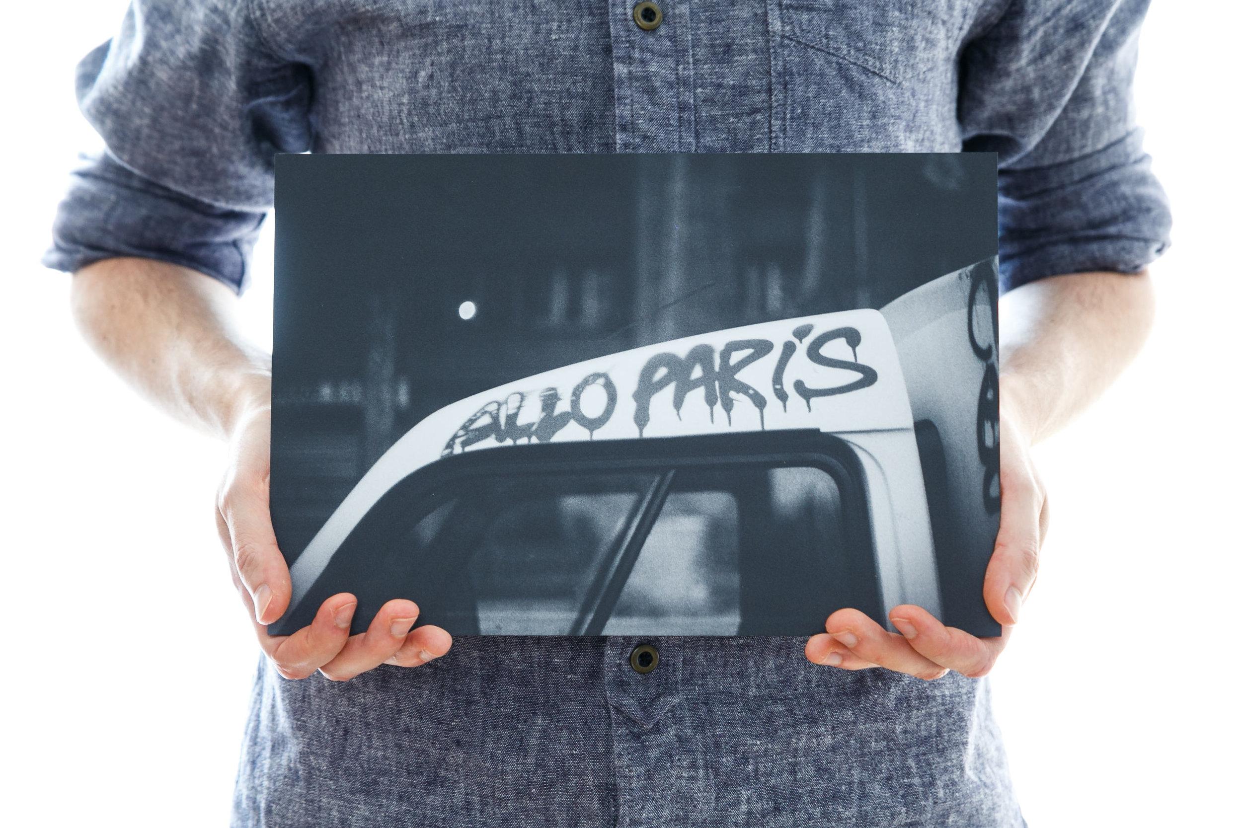'Allo Paris' (30x20cm - £40)