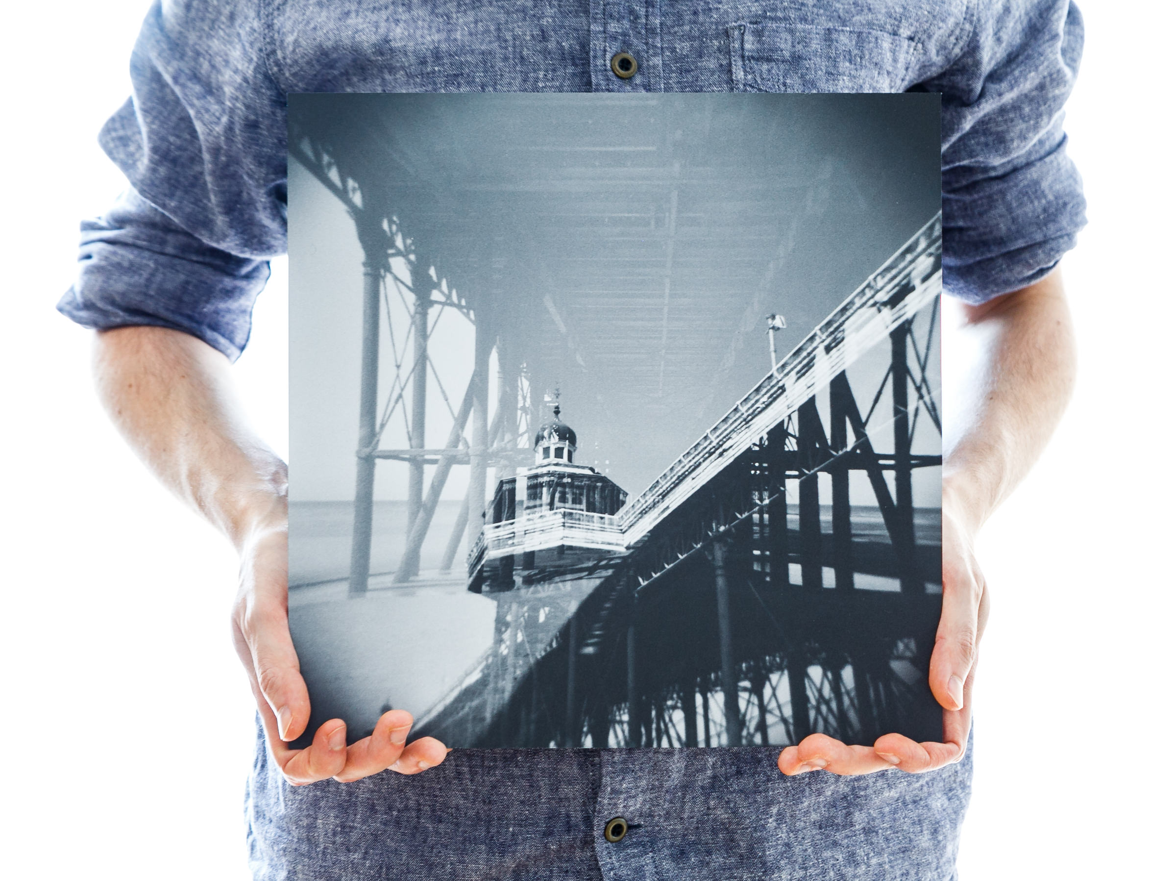 'North Pier' (30x30cm - £45)