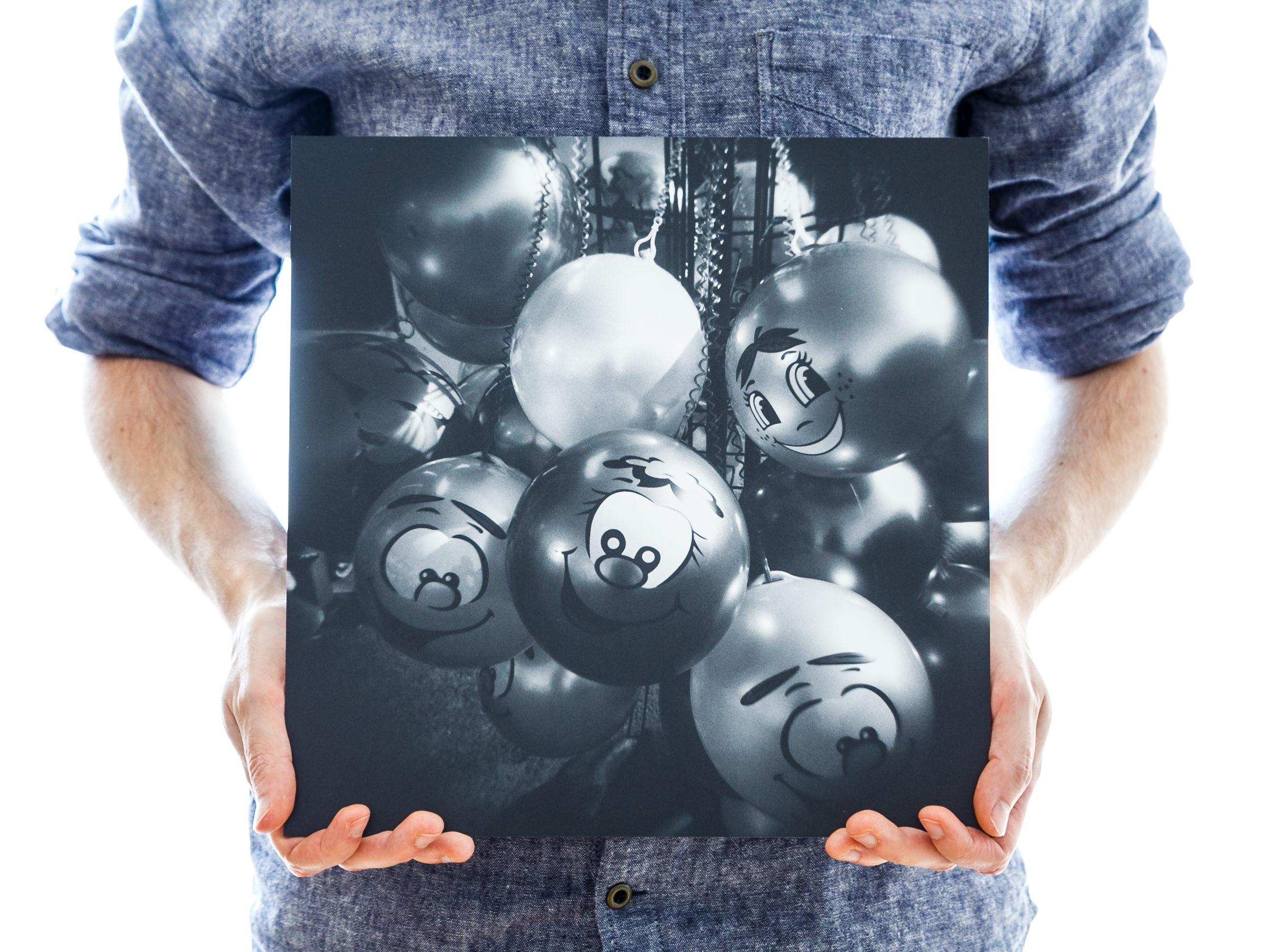 'Spherical Smiles' (30x30cm - £45)