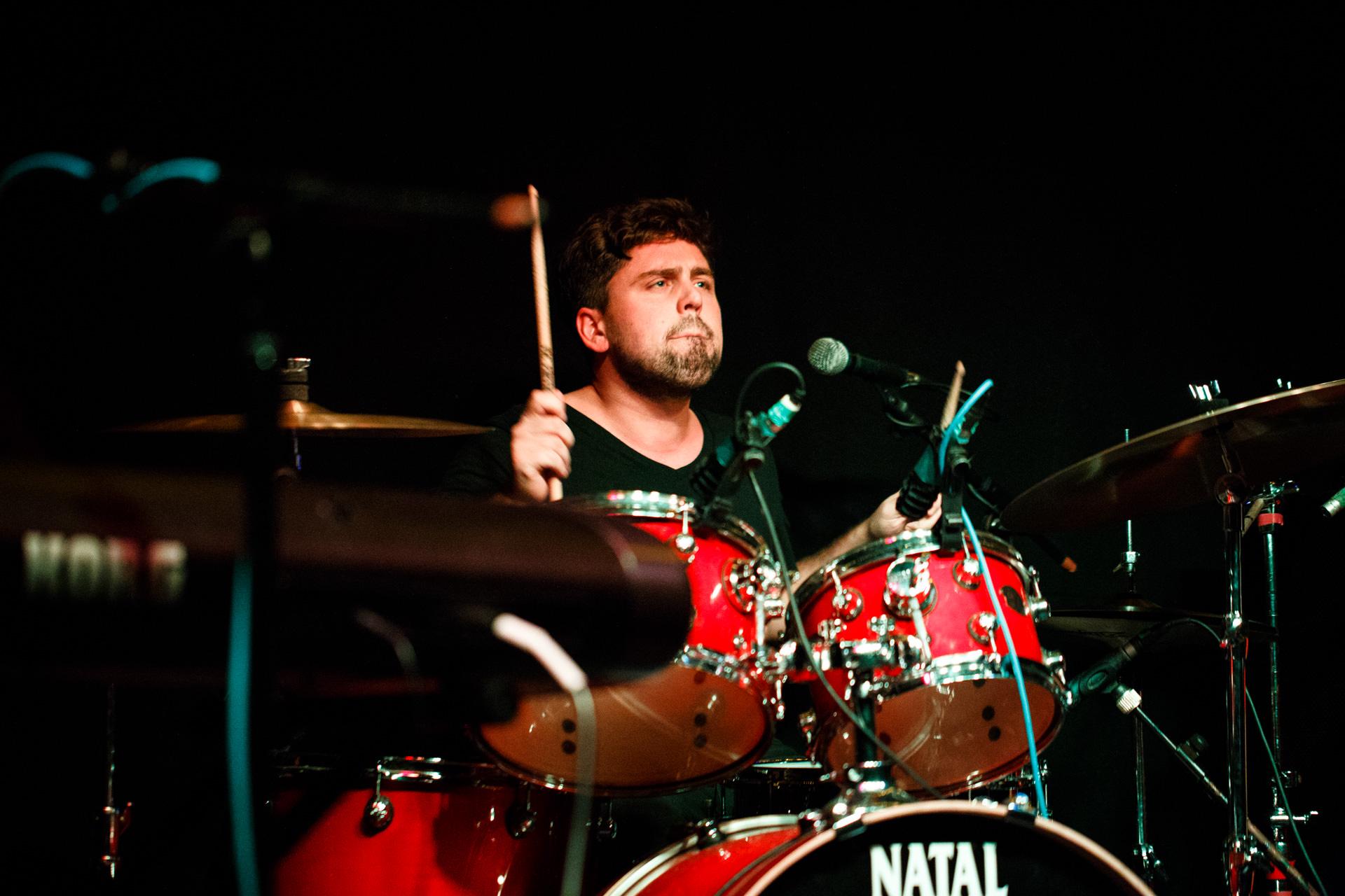 Allan Falcon – Drums & Percussion