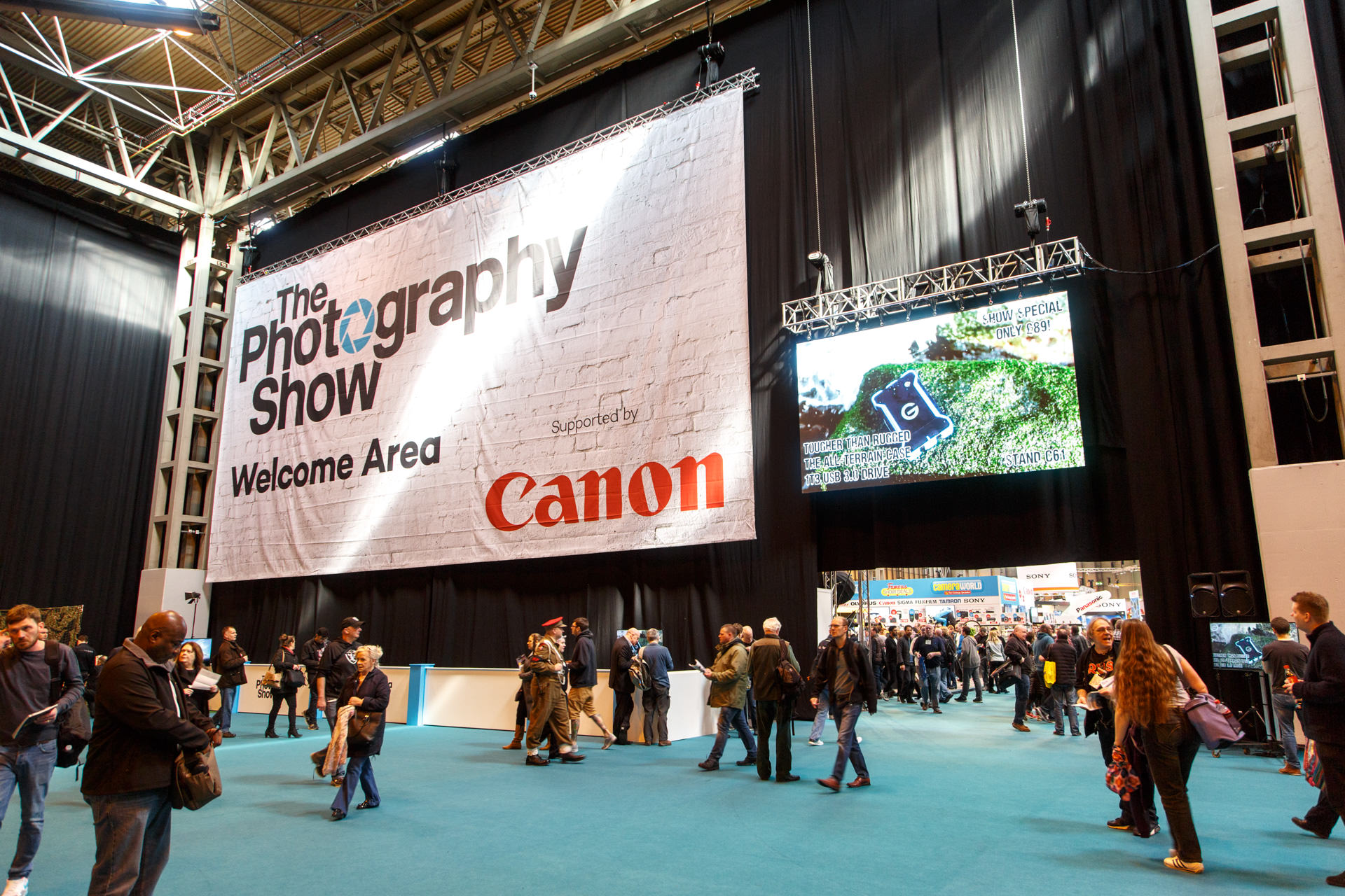 March - The Photography Show at the Birmingham NEC Arena.