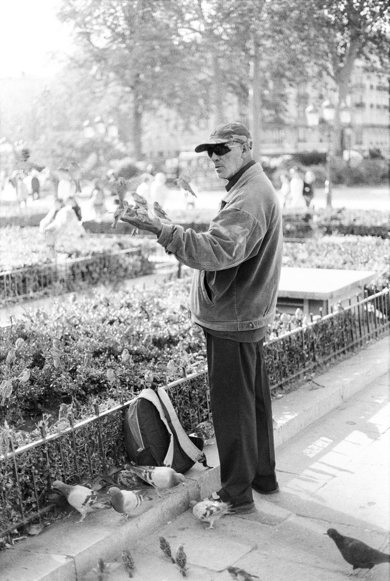 Andrew Wilson Photography Paris Bird Man.jpg