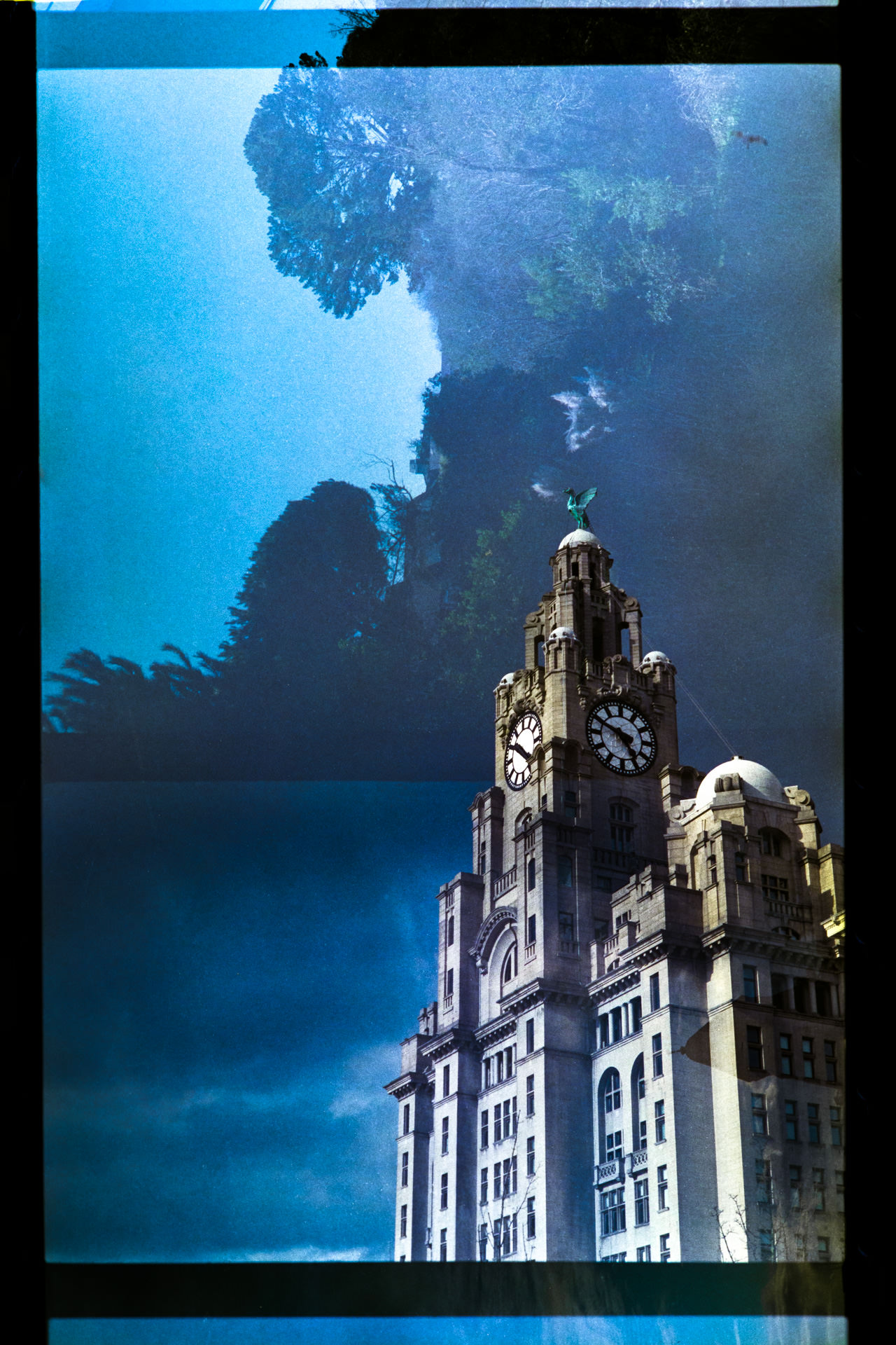 The Royal Liver Building, Liverpool.