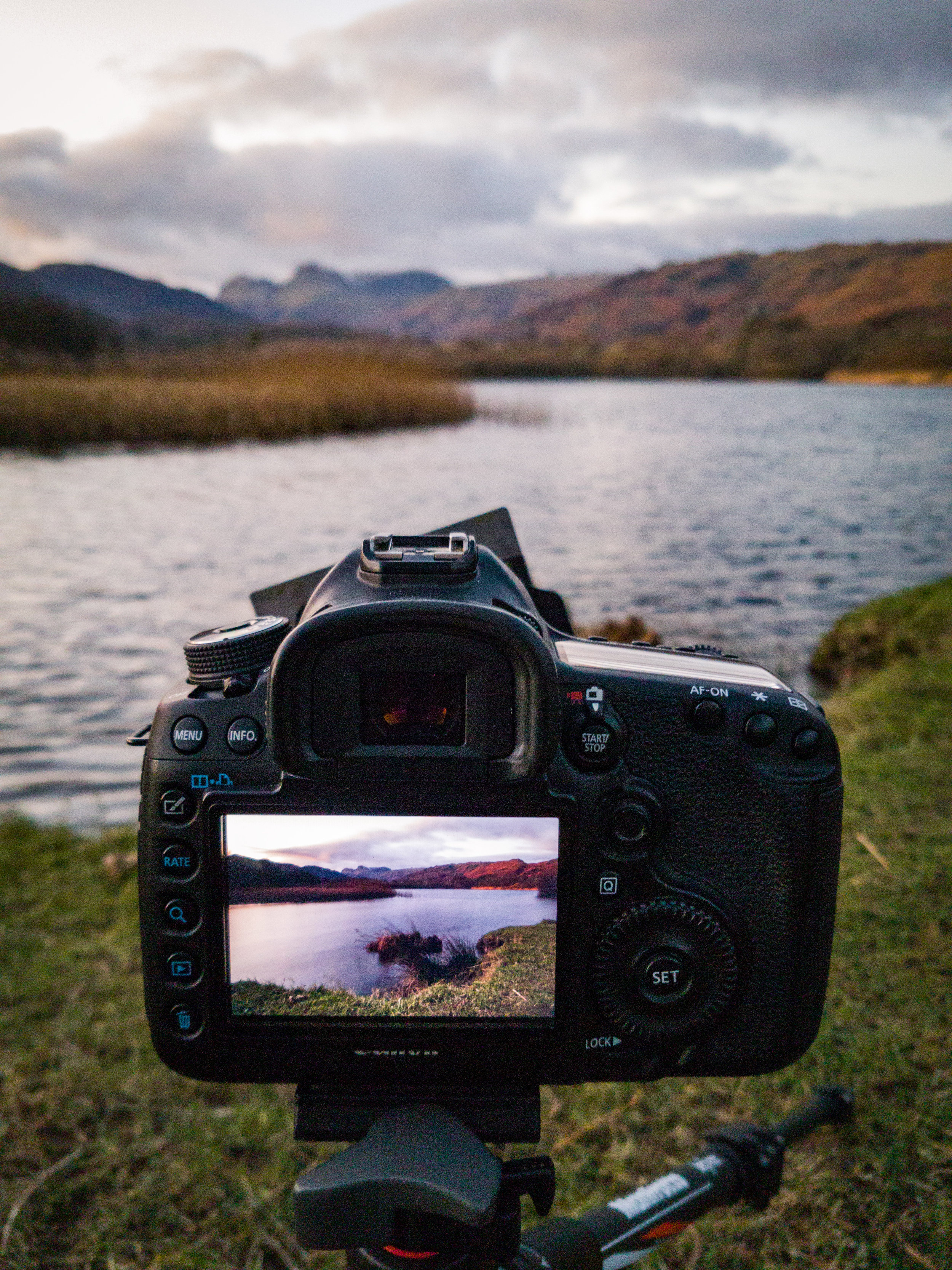 It was my family's annual trip to the Lakes at the end of November. This time I remembered my tripod!