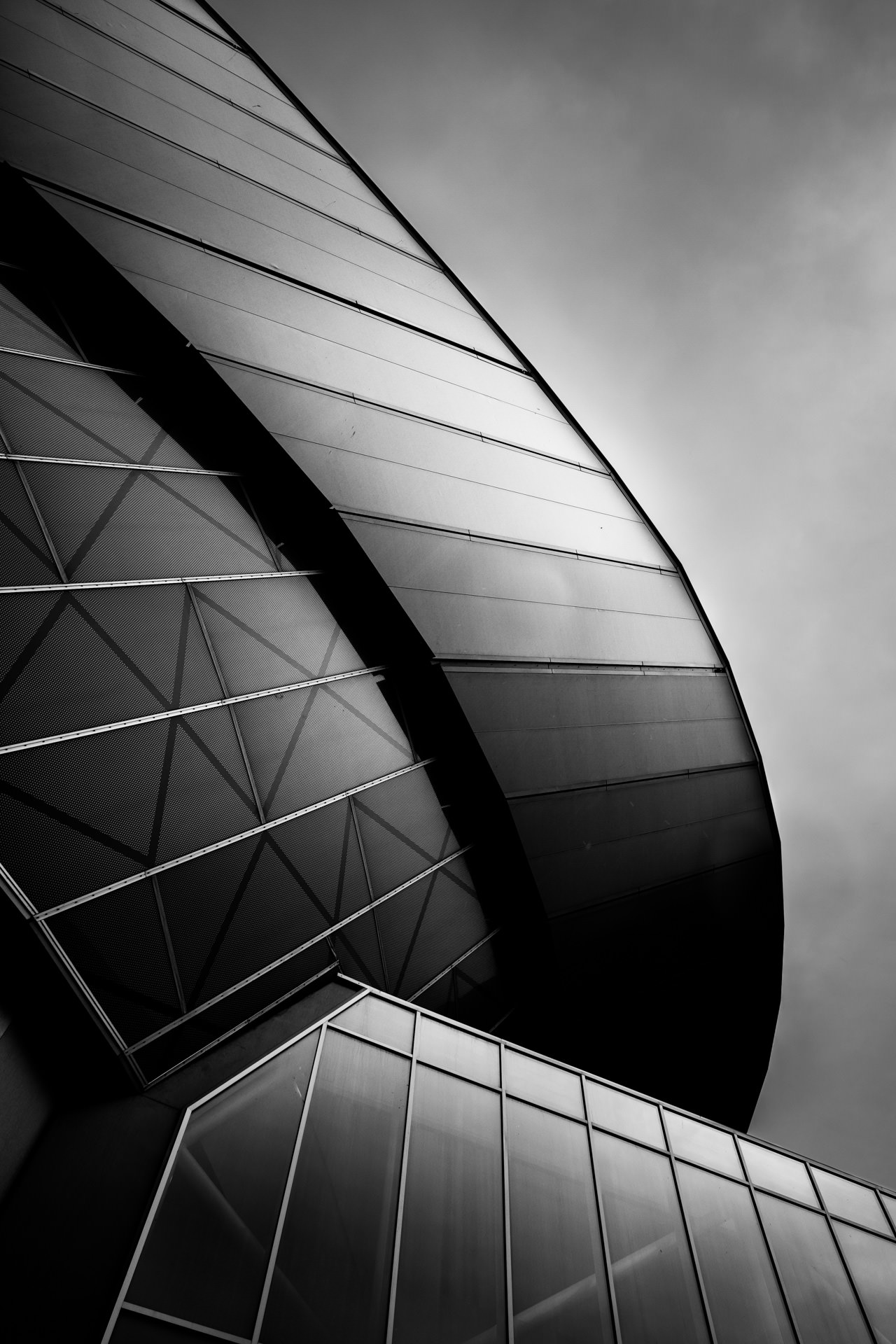 September - back to Digital Splash competitions. This one of the Echo Arena was an entry for the 'Architecture' theme.