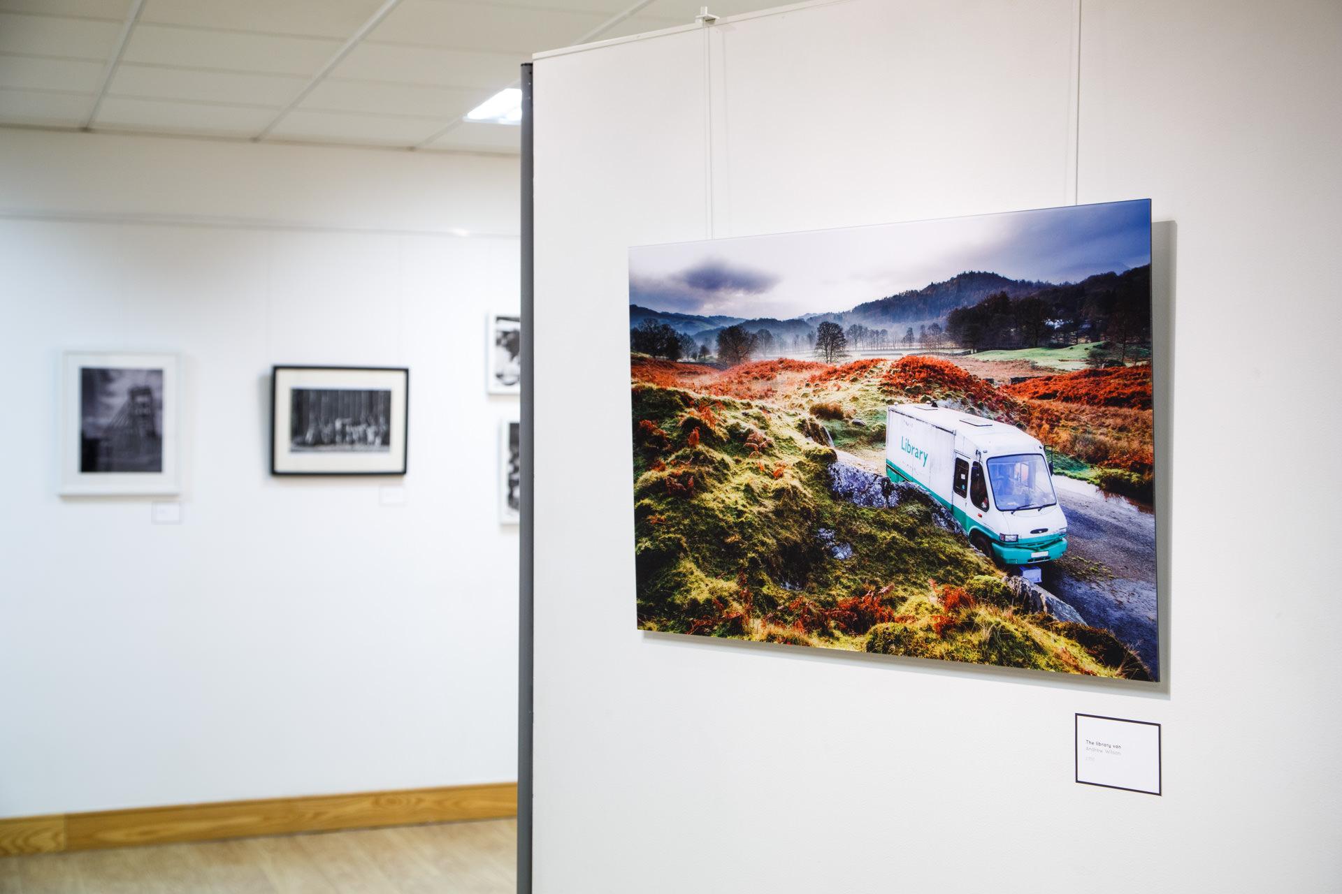 'The Library Van' at Warrington Contemporary Arts Festival 2015