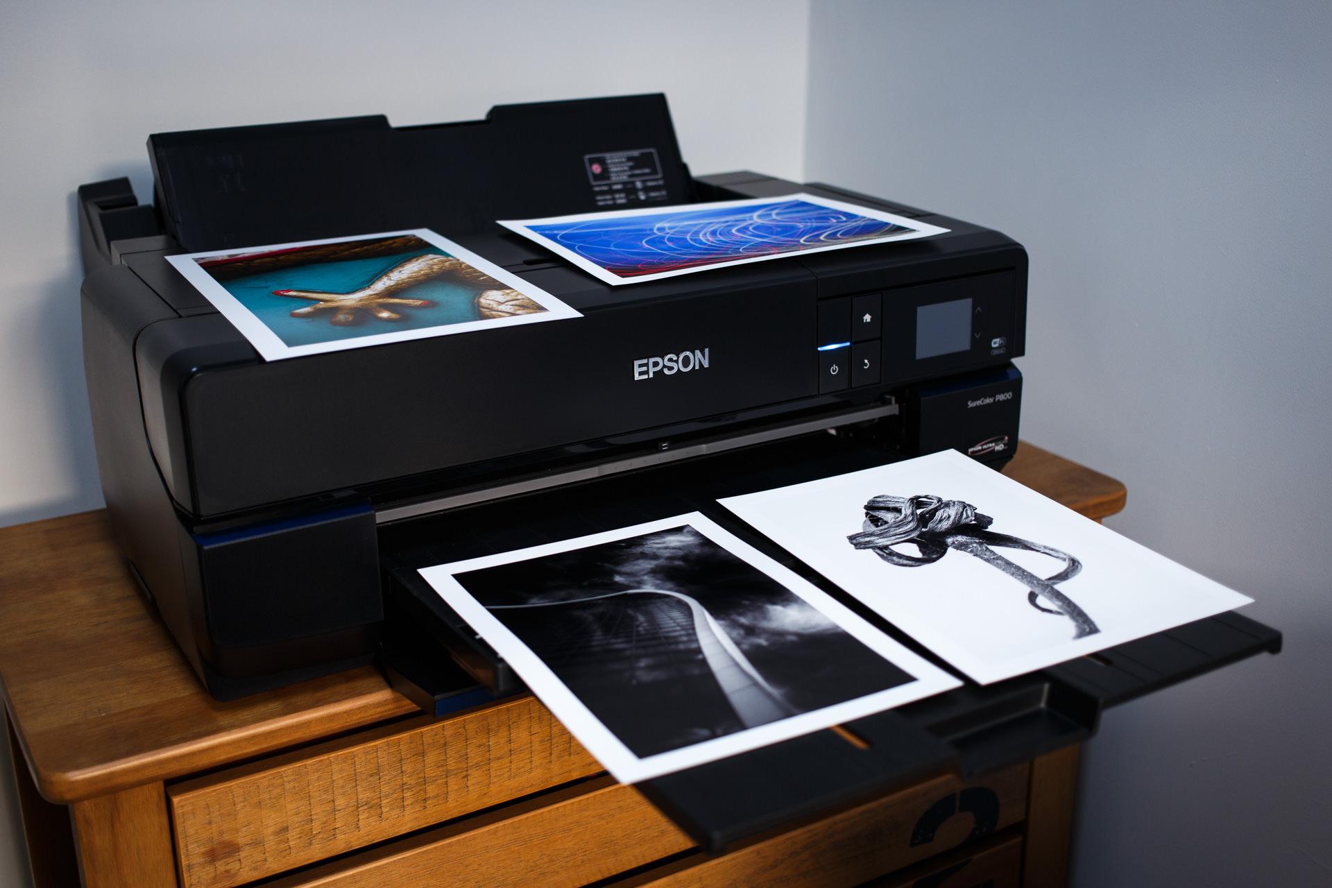 My Epson SureColour P800 printer.