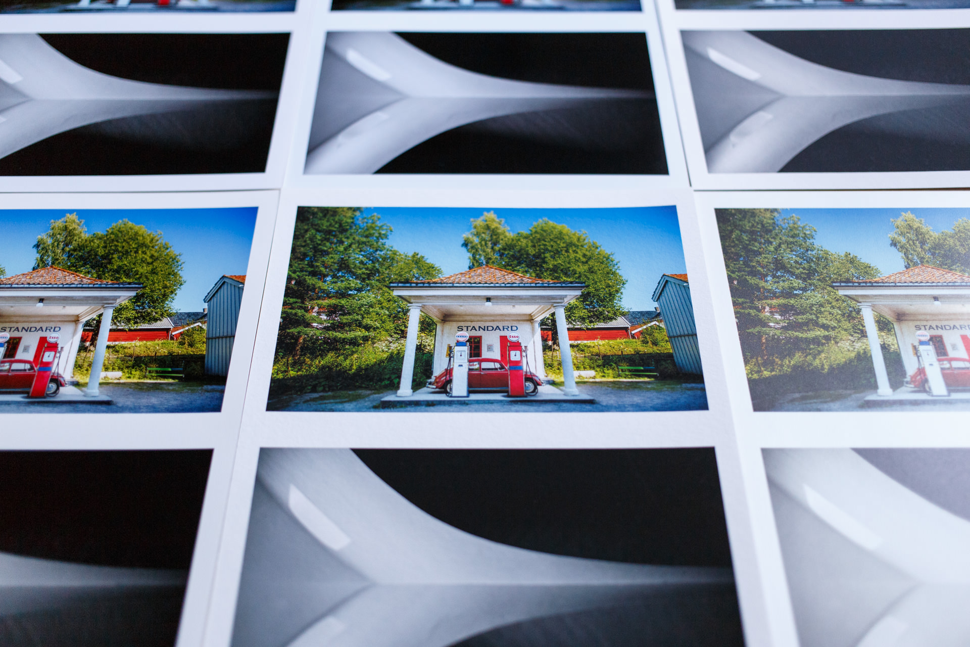 My test print photos from Oslo.