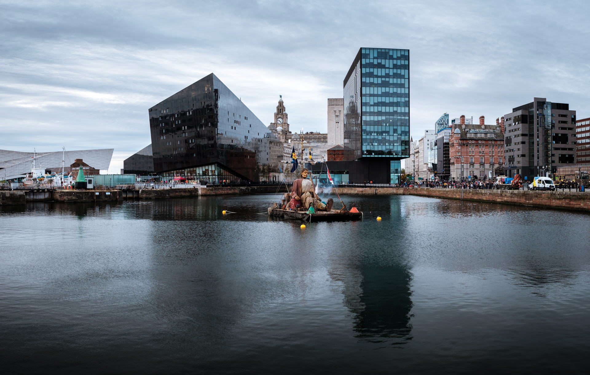 …in the Canning Dock.
