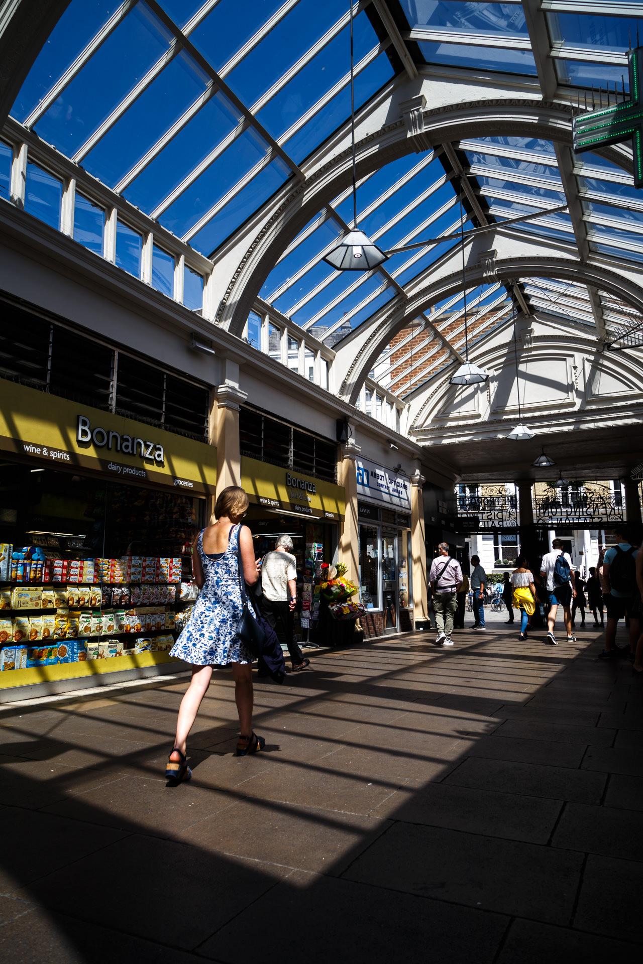 South Kensington Station.