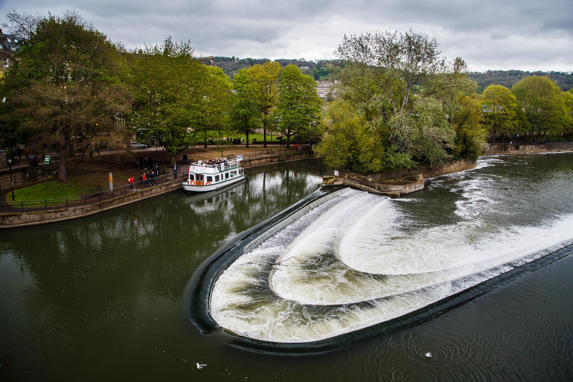 …and Pulteney Weir.