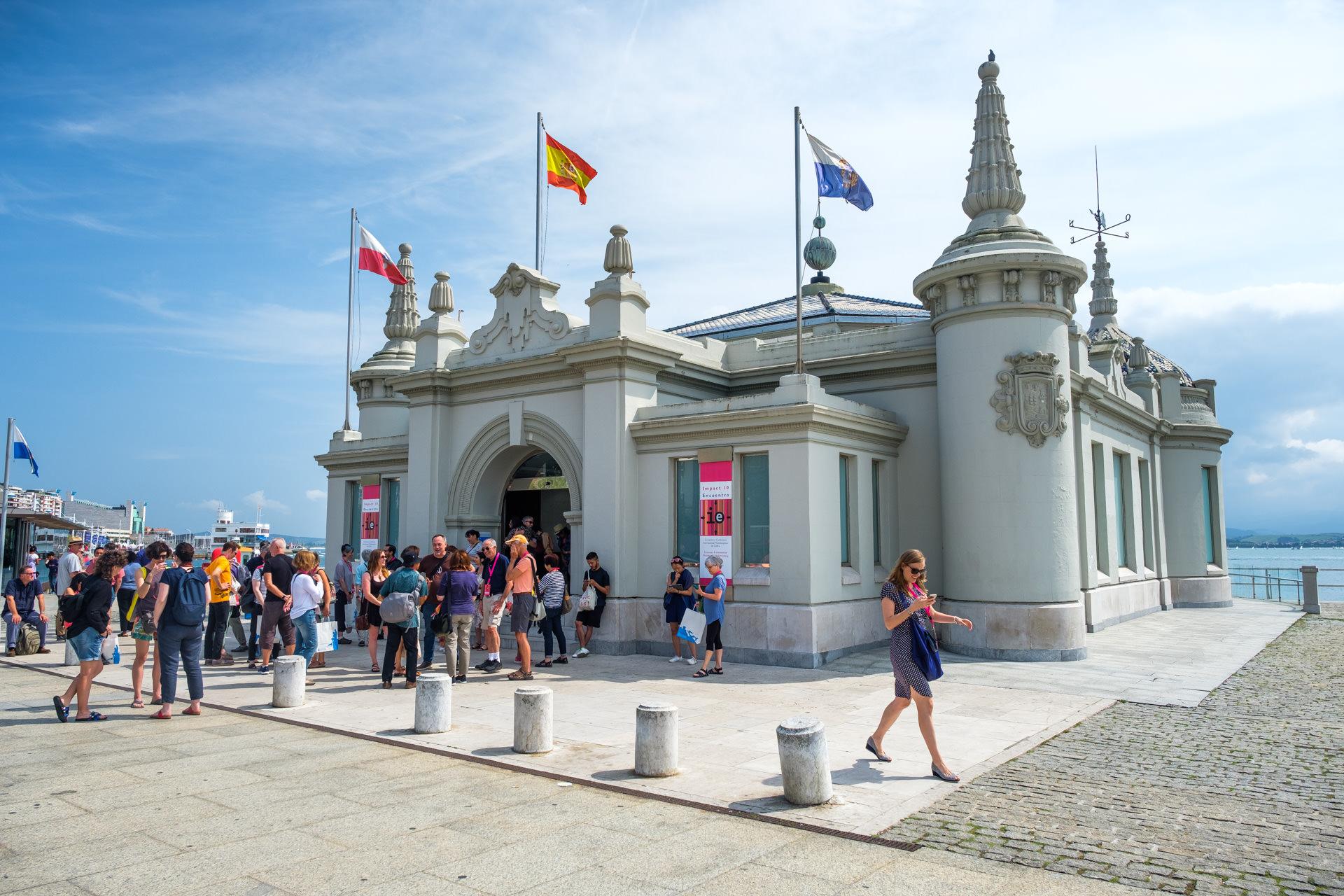 September - The 'Impact' print conference at Santander, Spain...