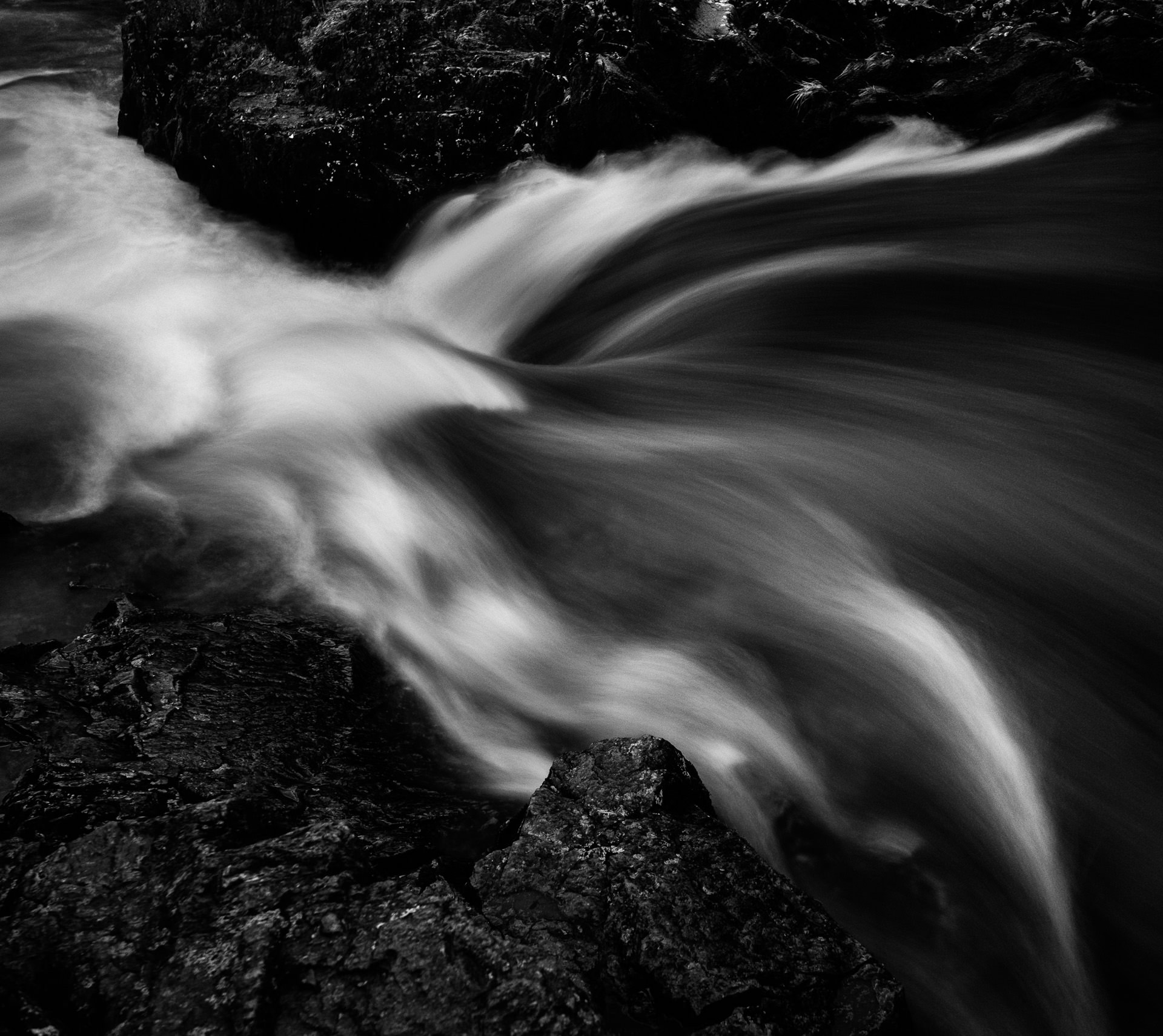 …this time I concentrated on photographing water at different shutter speeds.