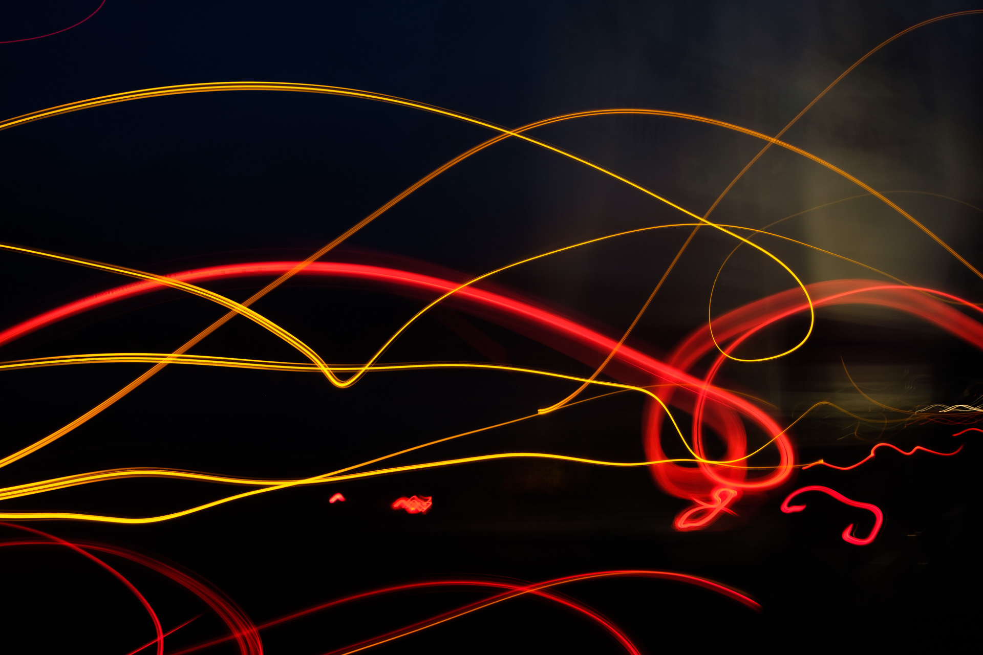 Light painting on the journey home using lights of passing cars. I might feature more of these in a separate blog…