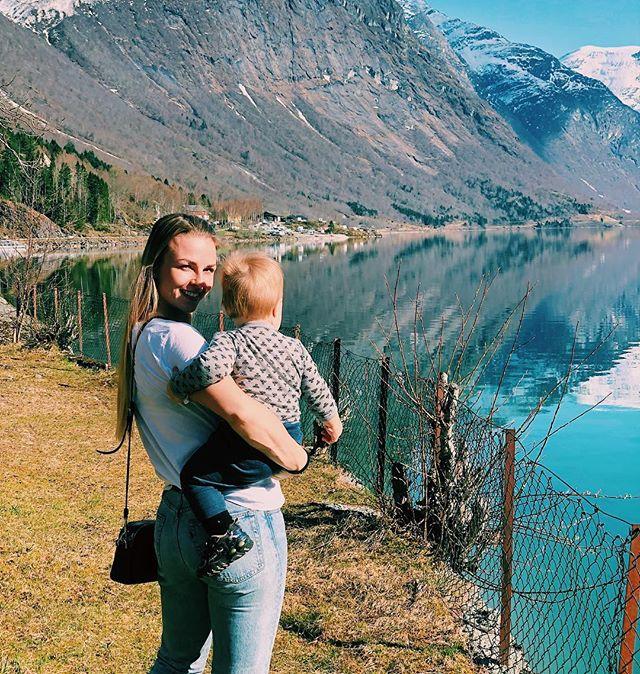 Norge, du e fin du❤️ #loen #liveterbestute #lovatnet