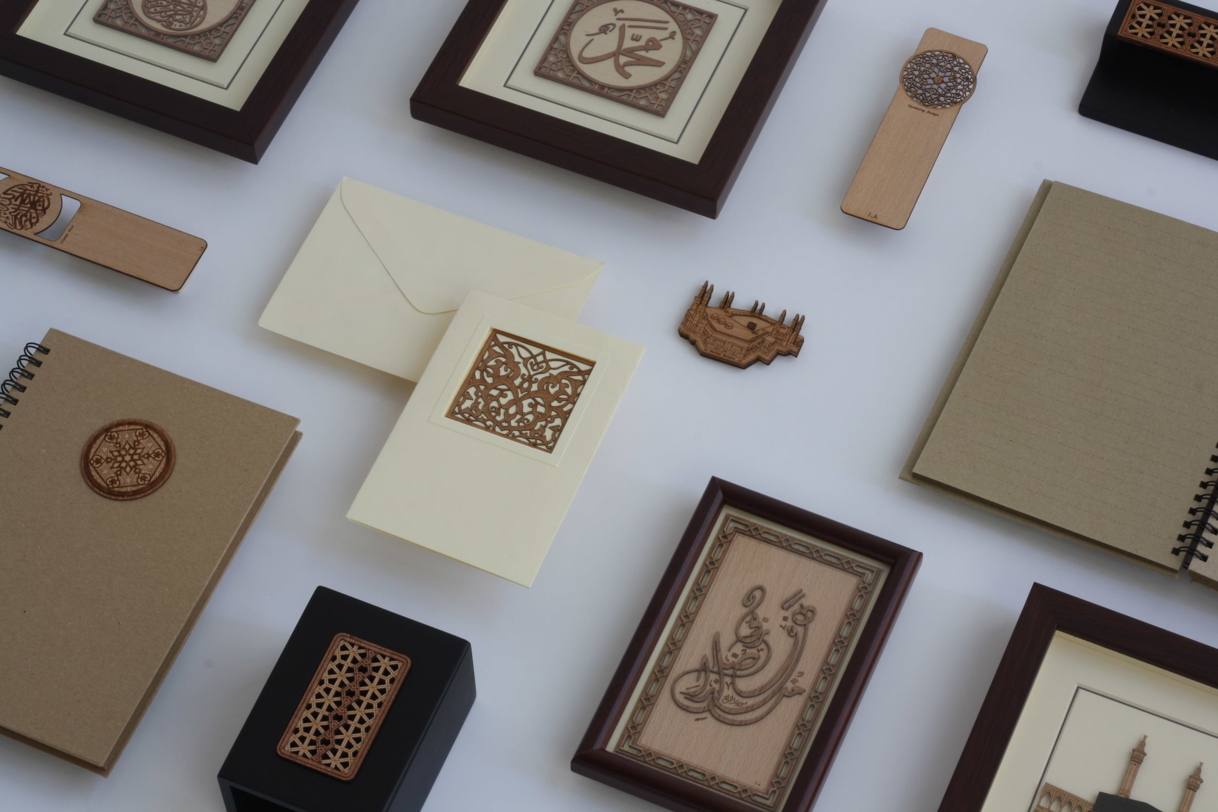 Islamic Gifts on Table