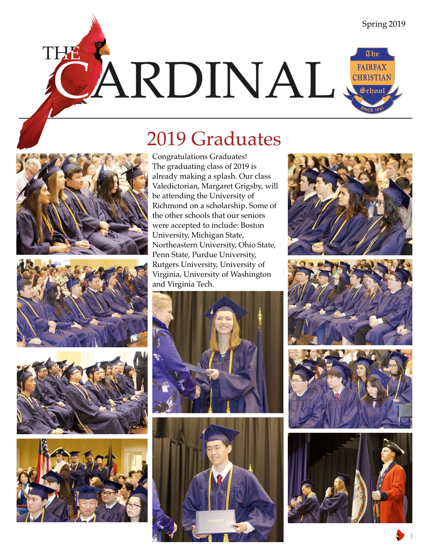 The Cardinal Spring 2019