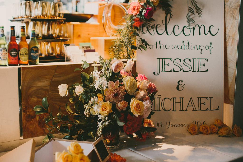 FloraFolk Wedding Florist Sydney Jessie and Mike 11