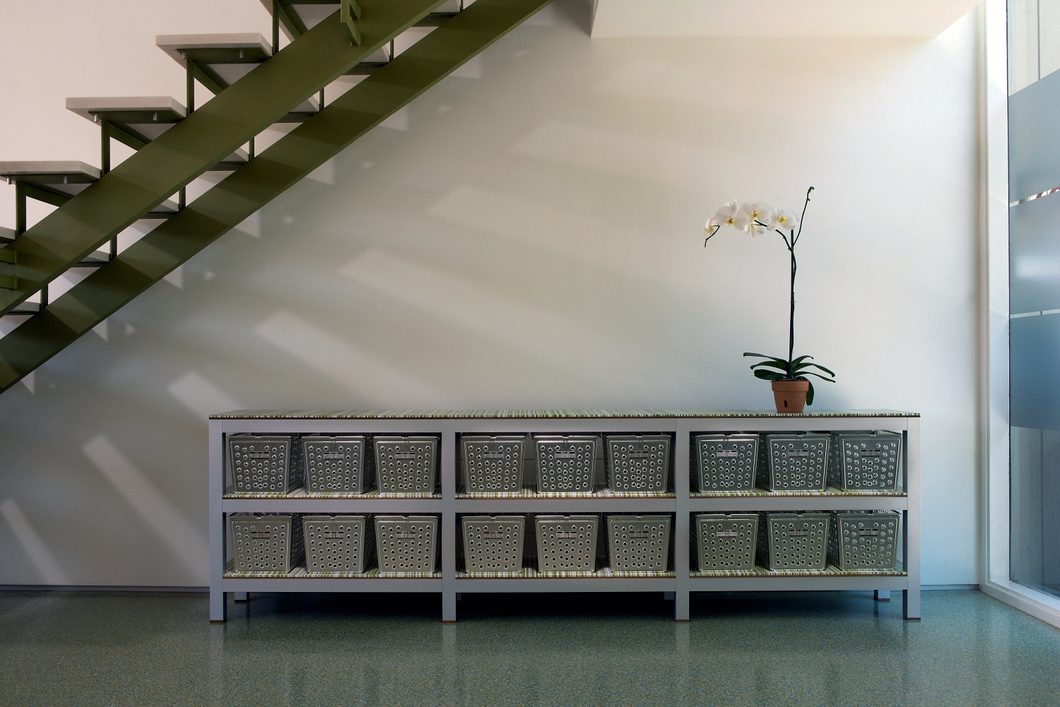 Contemporary Basket Sideboard Storage