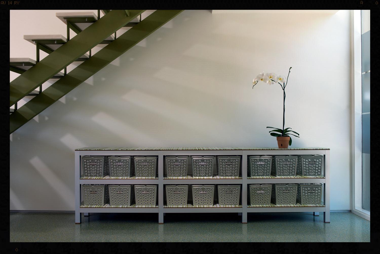 Contemporary Basket Sideboard Storage