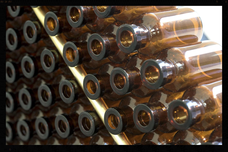 Little Amber Bottle Panel
