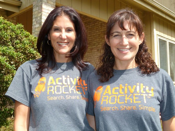 Lisa Friedlander (CEO) and Ilene Miller (COO), co-founders of Activity Rocket.