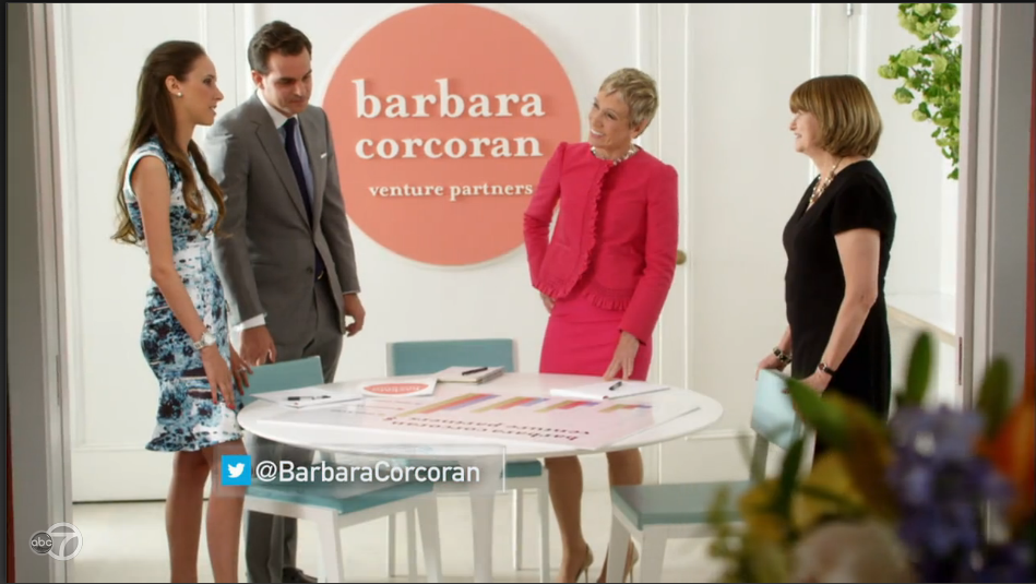 Two of Onevest's co-founders, Alejandro Cremades and Tanya Prive, appear in Barbara's introduction for ABC's  Shark Tank .