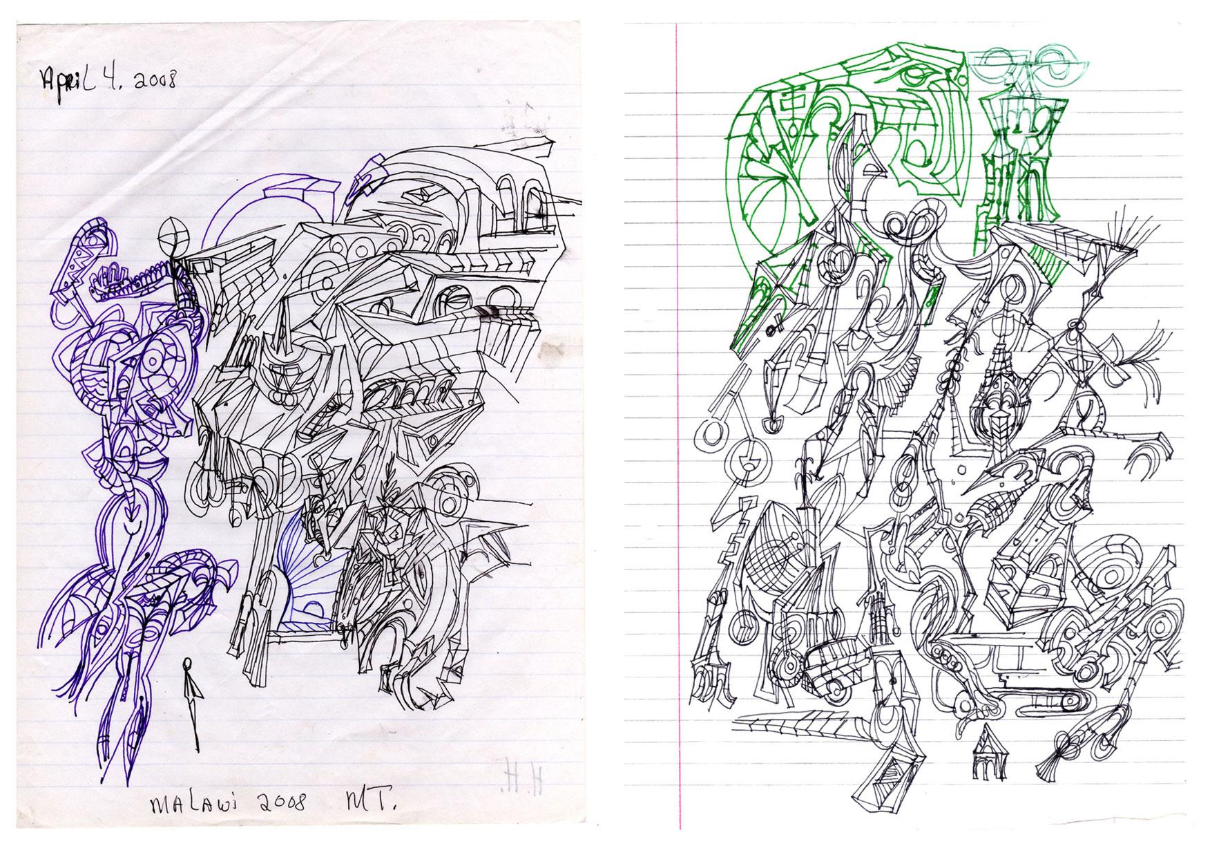 Transit Sketches, 2008