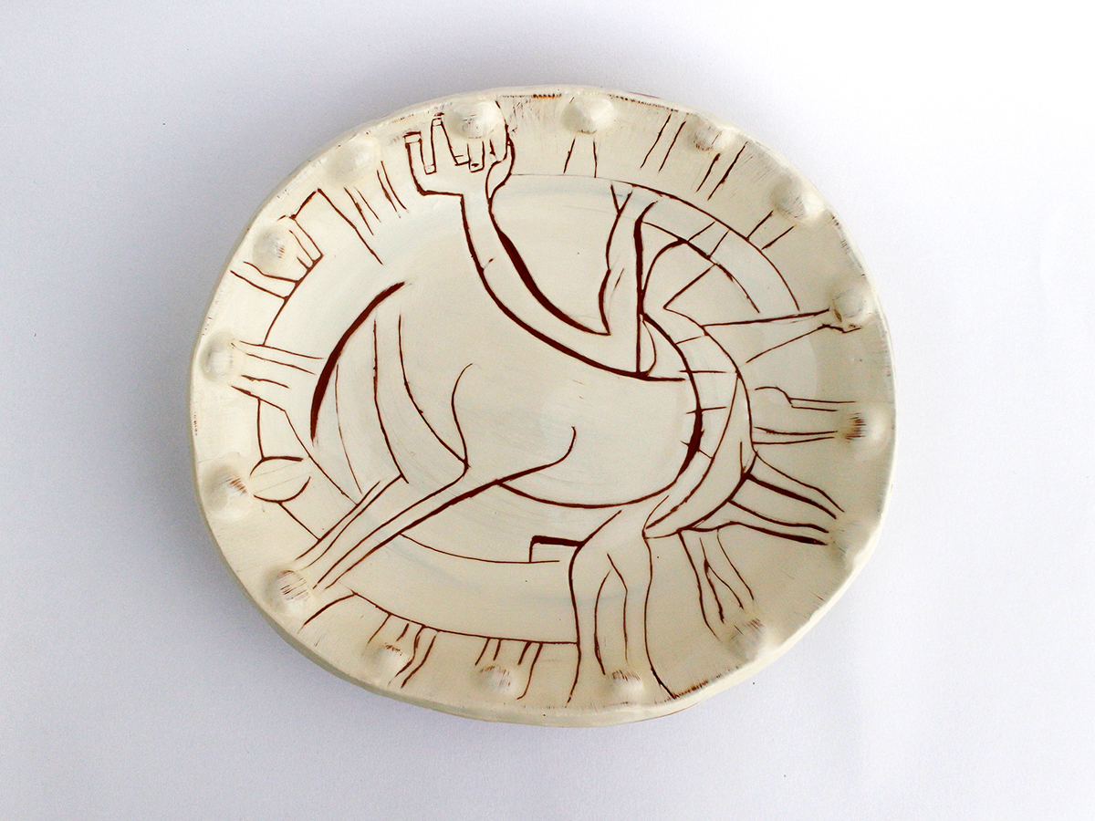 Horse Plate, 2016