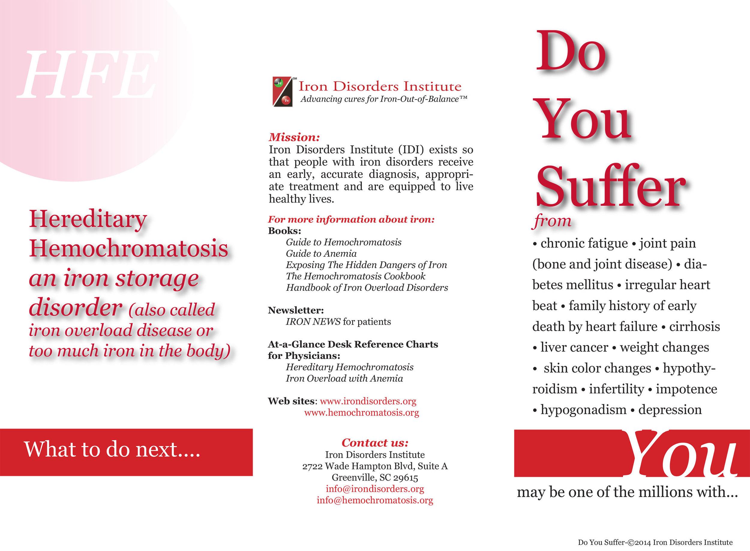 Hemochromatosis org - An Education Website for