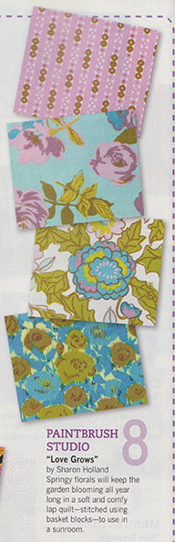 fabric buyer's guide Quilt magazine